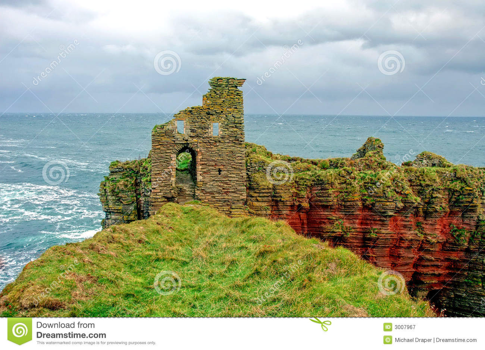 Castle ON Coast Cliffs