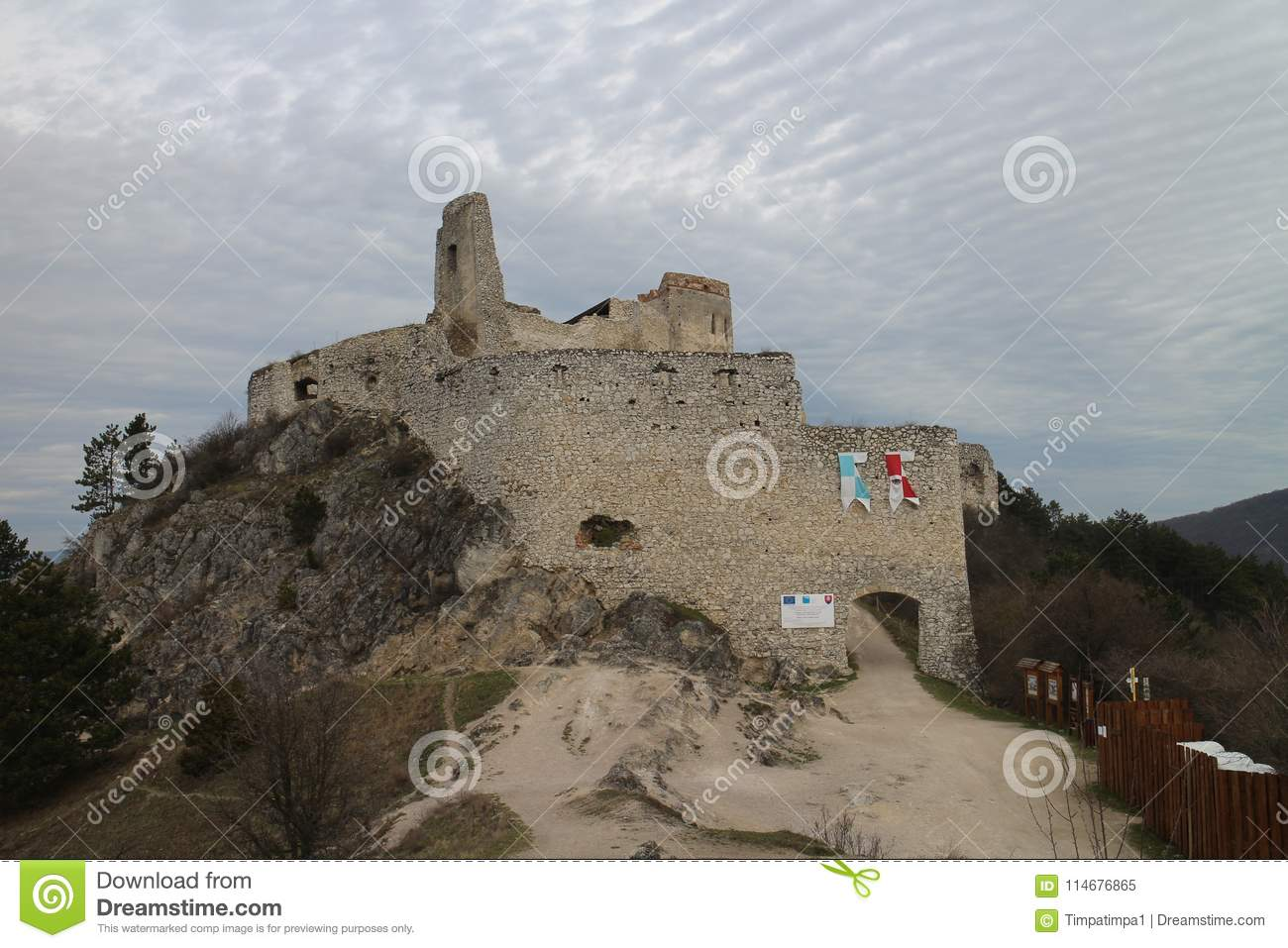Castle of Countess Elisabeth Báthory, Čachtice
