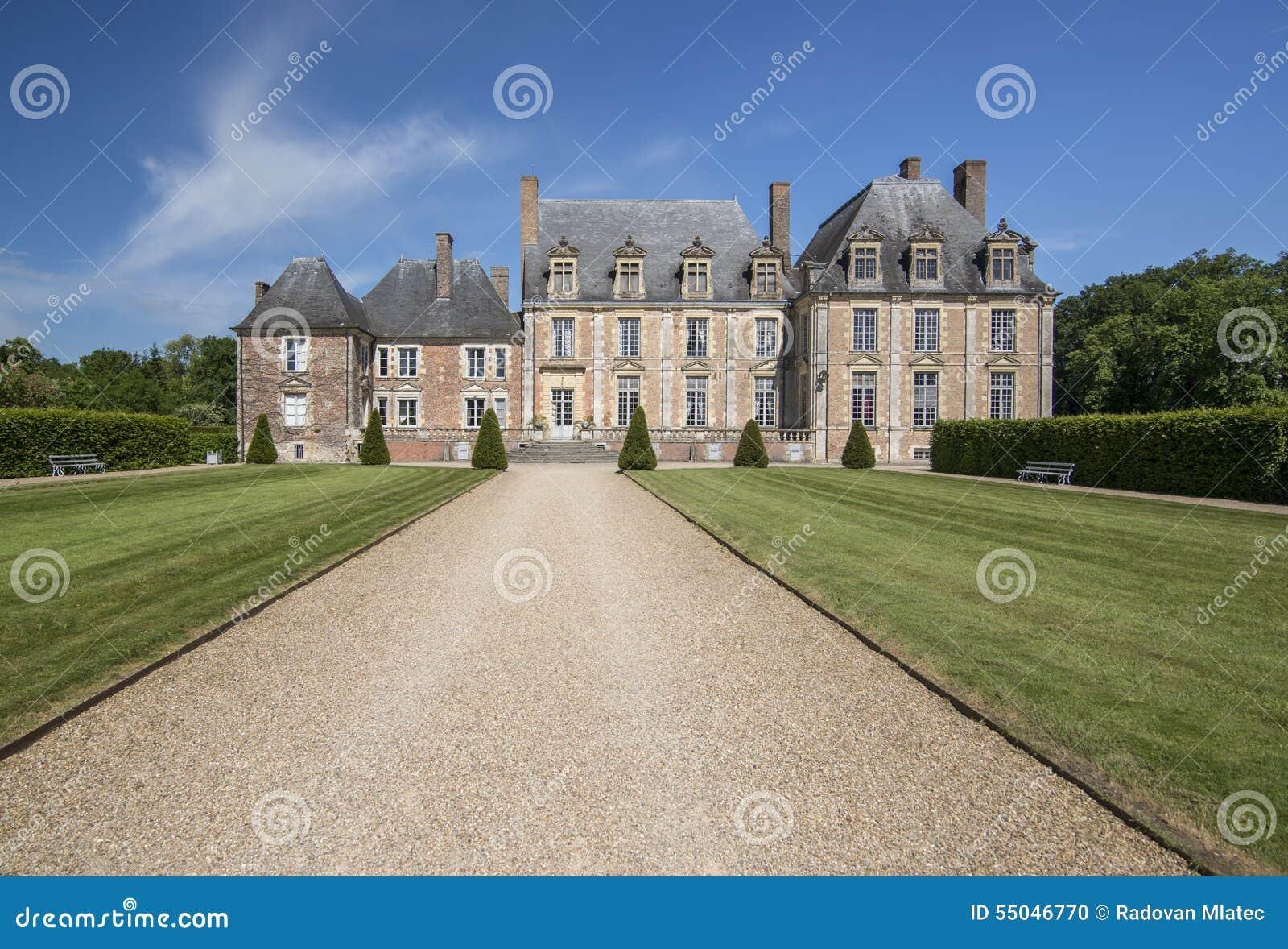 Castle of of de la Ferte Saint-Aubin
