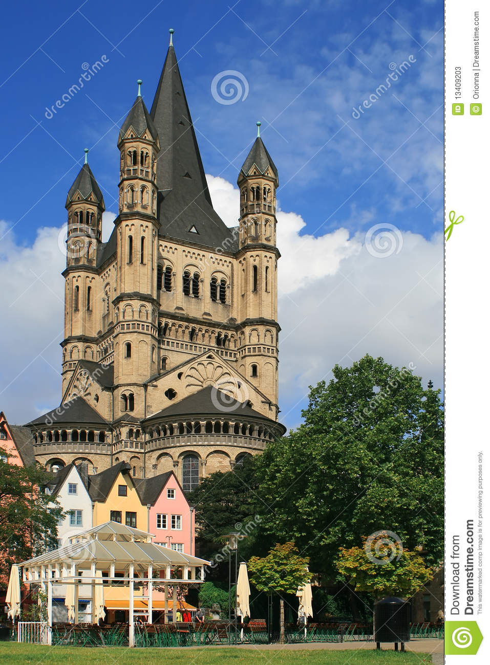 Historical Stock Prices >> A Castle In Frankfurt, Germany Stock Photos - Image: 13409203