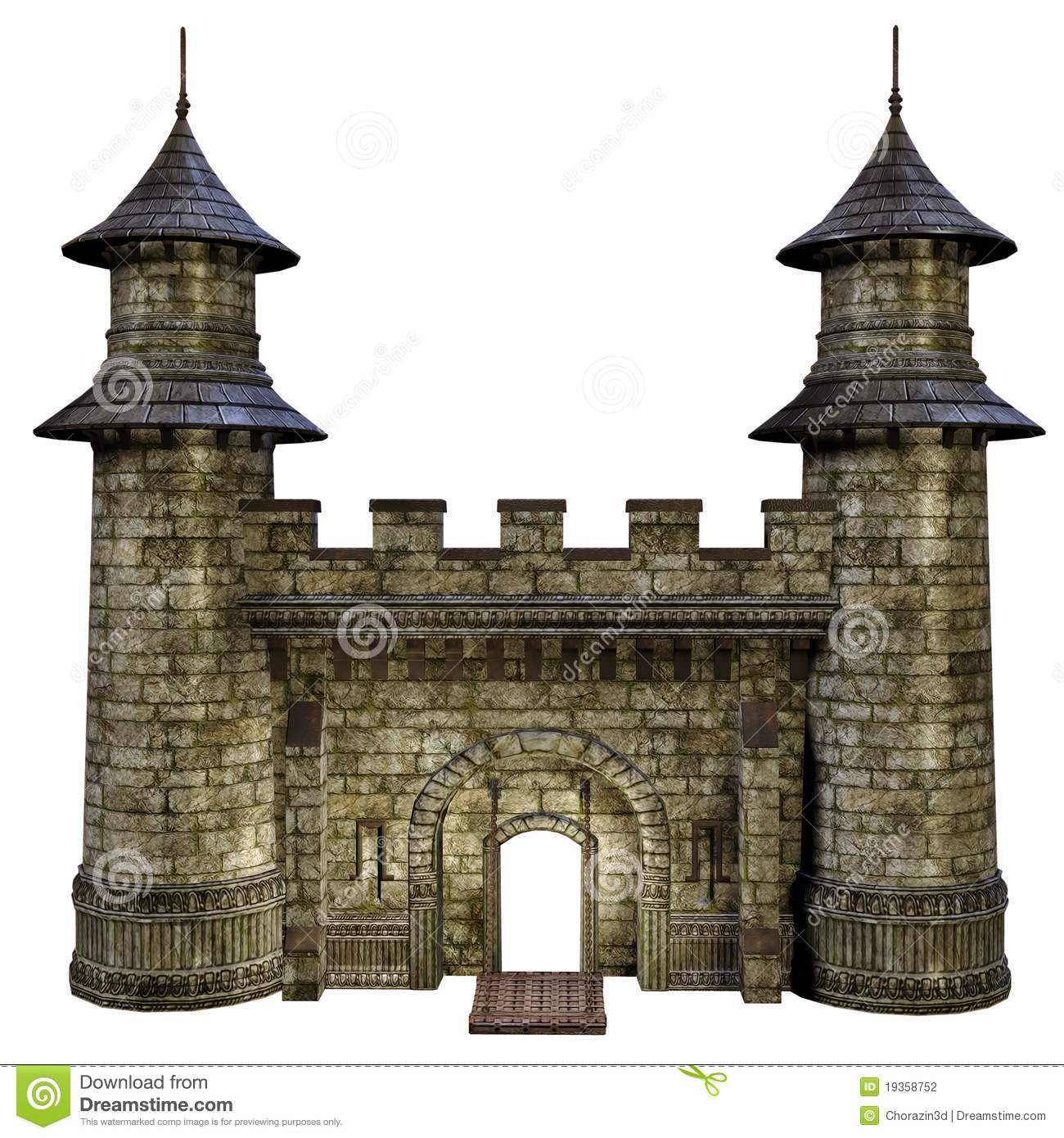 Castle Gate Stock Photography Image 19358752
