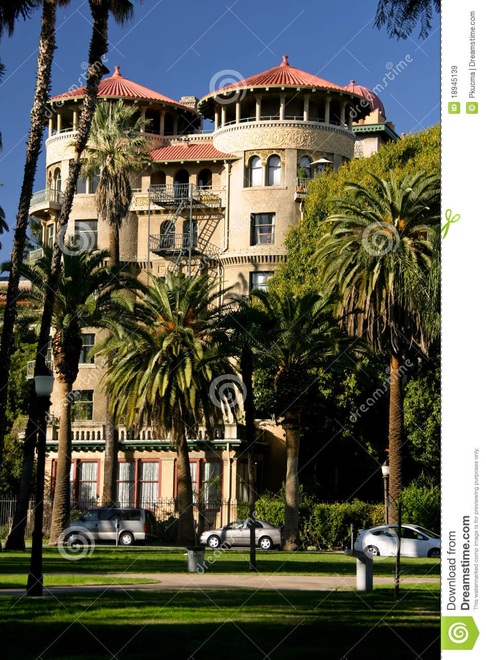 Castle Green, Pasadena CA Royalty Free Stock Images ...