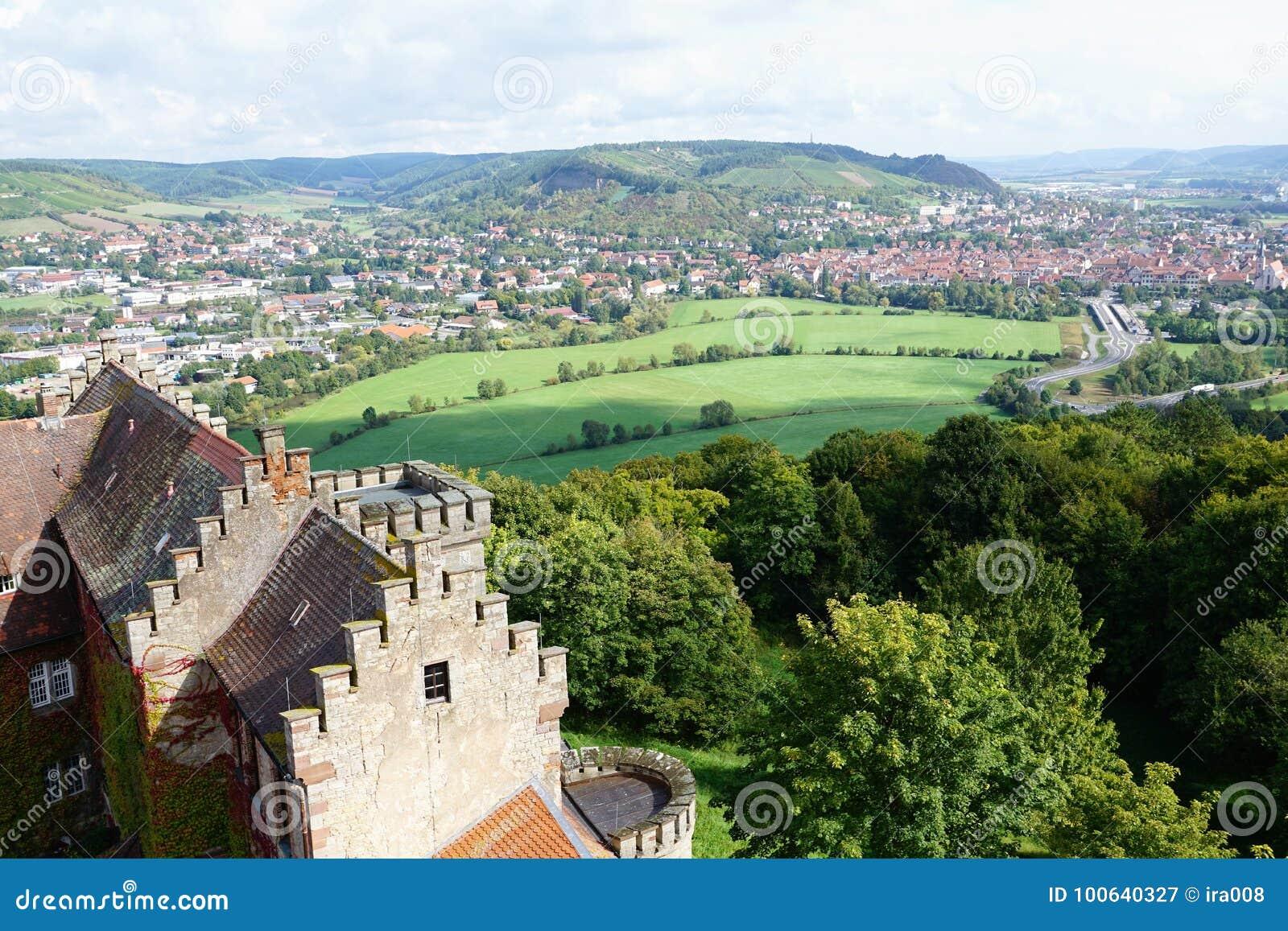 Castle In Hammelburg Stock Image Image Of Hiking Maria 100640327