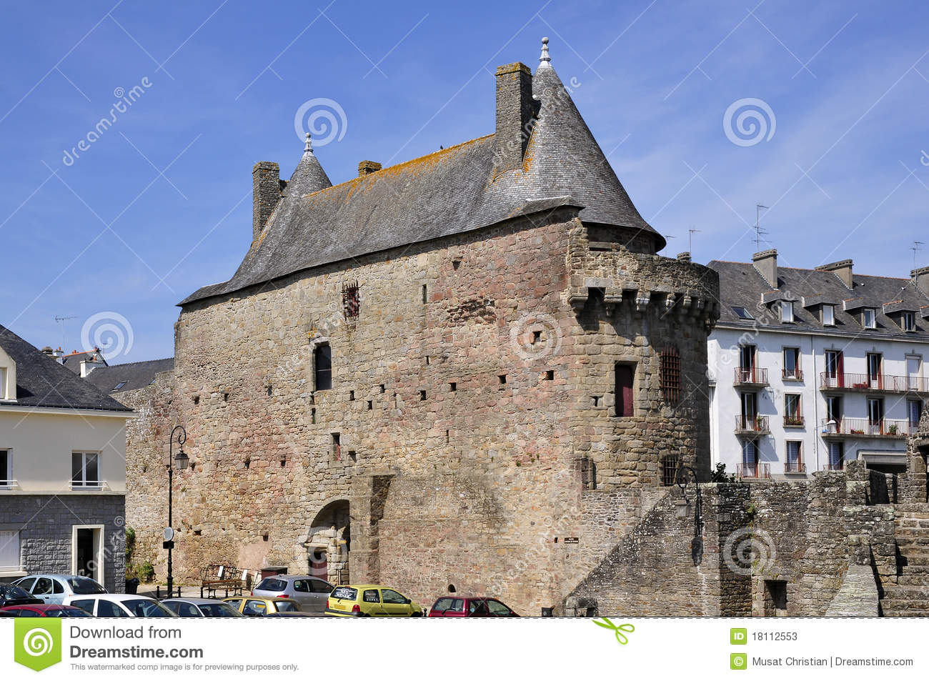 Hennebont France  city photo : castle hennebont france 18112553