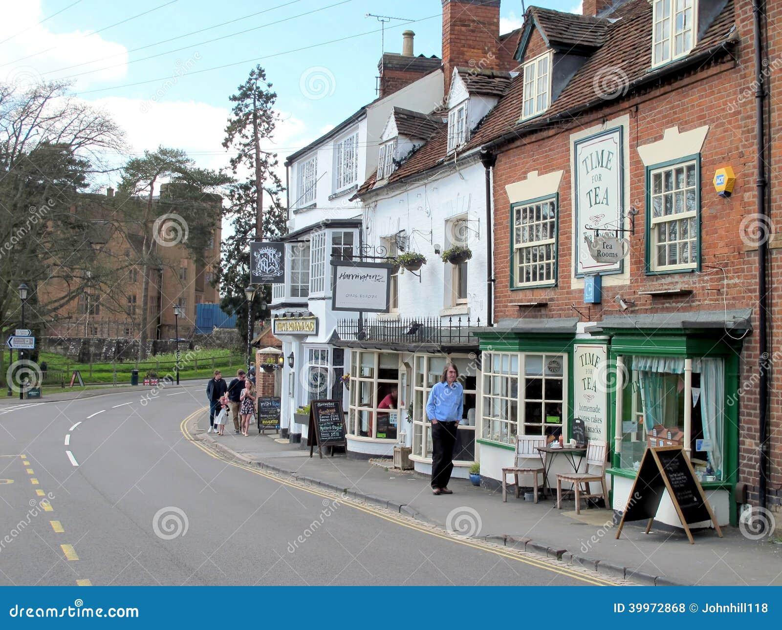 Castle Hill Kenilworth Warwickshire Editorial Stock