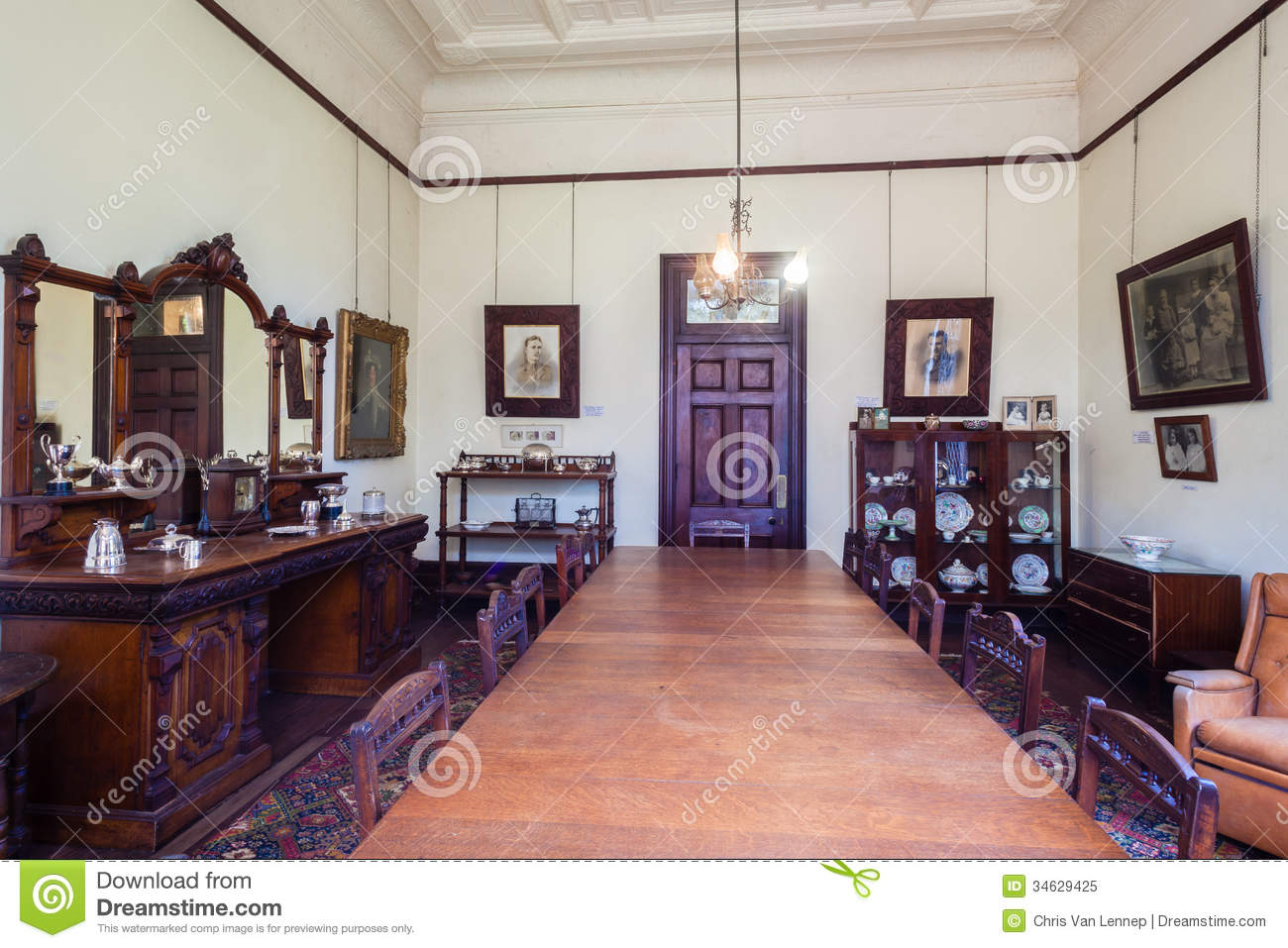 Castle Home Dining Room History South Africa Editorial