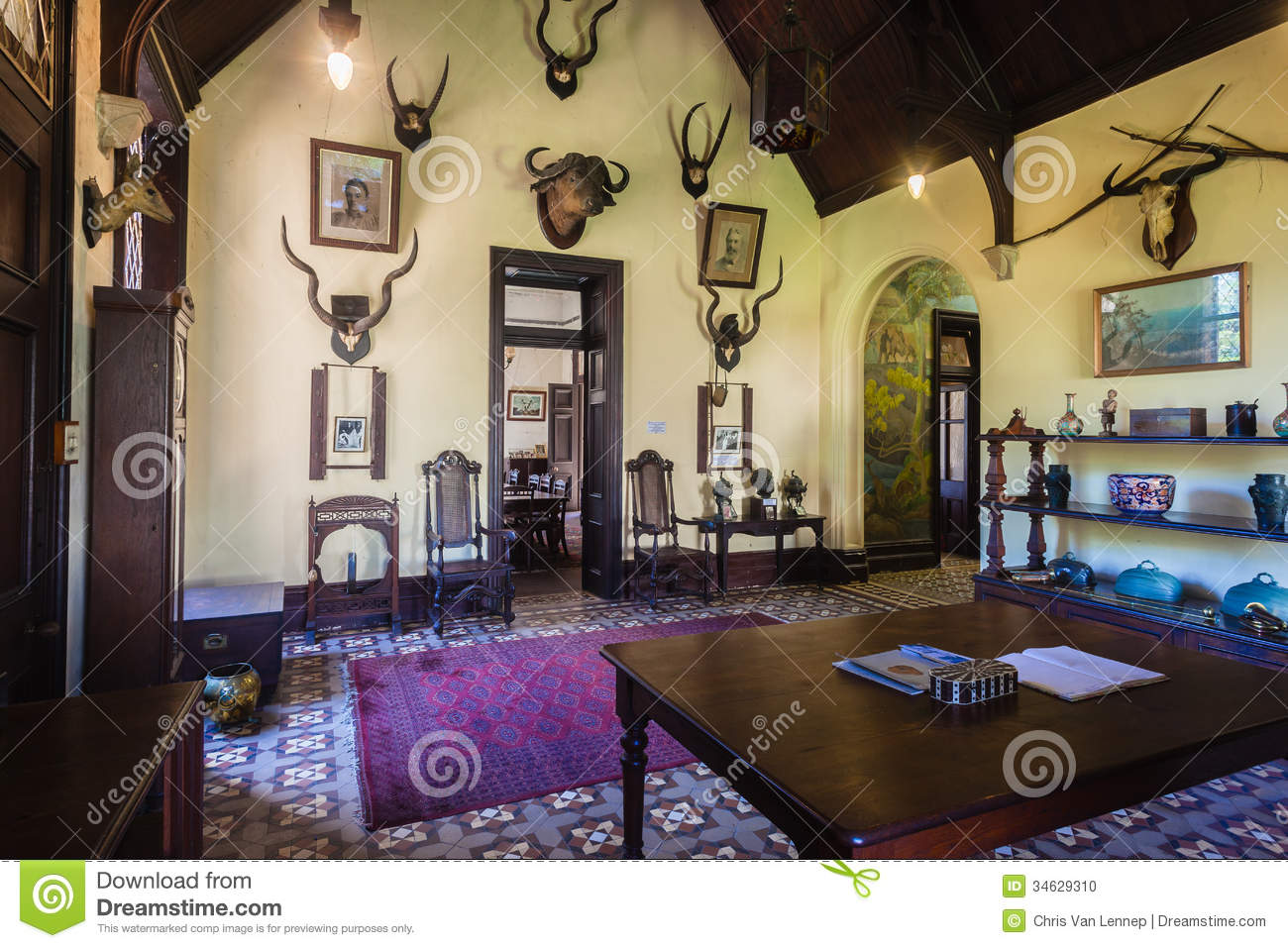 Castle Home 1870s Interior History South Africa