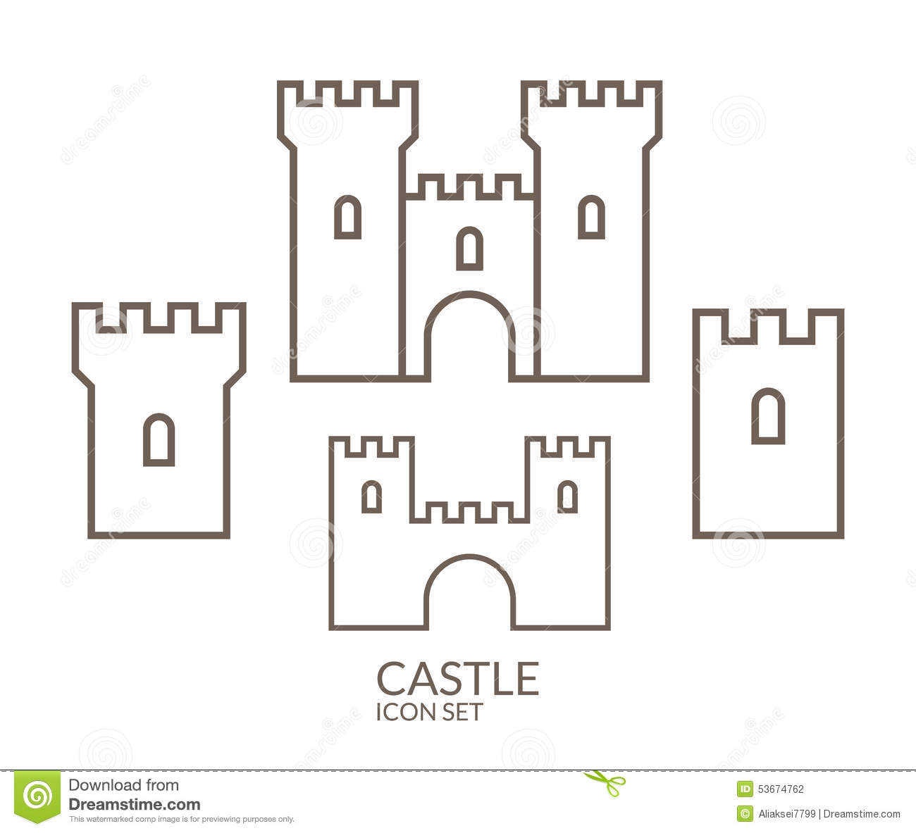 Kids Drawing Of A Fortress