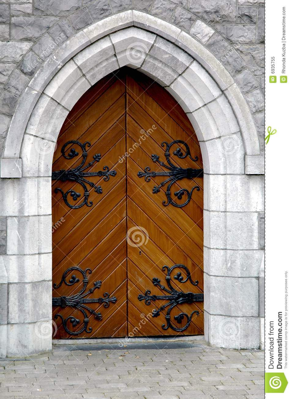 Castle Keep Door & Castle Keep Door stock image. Image of large ireland - 6935755