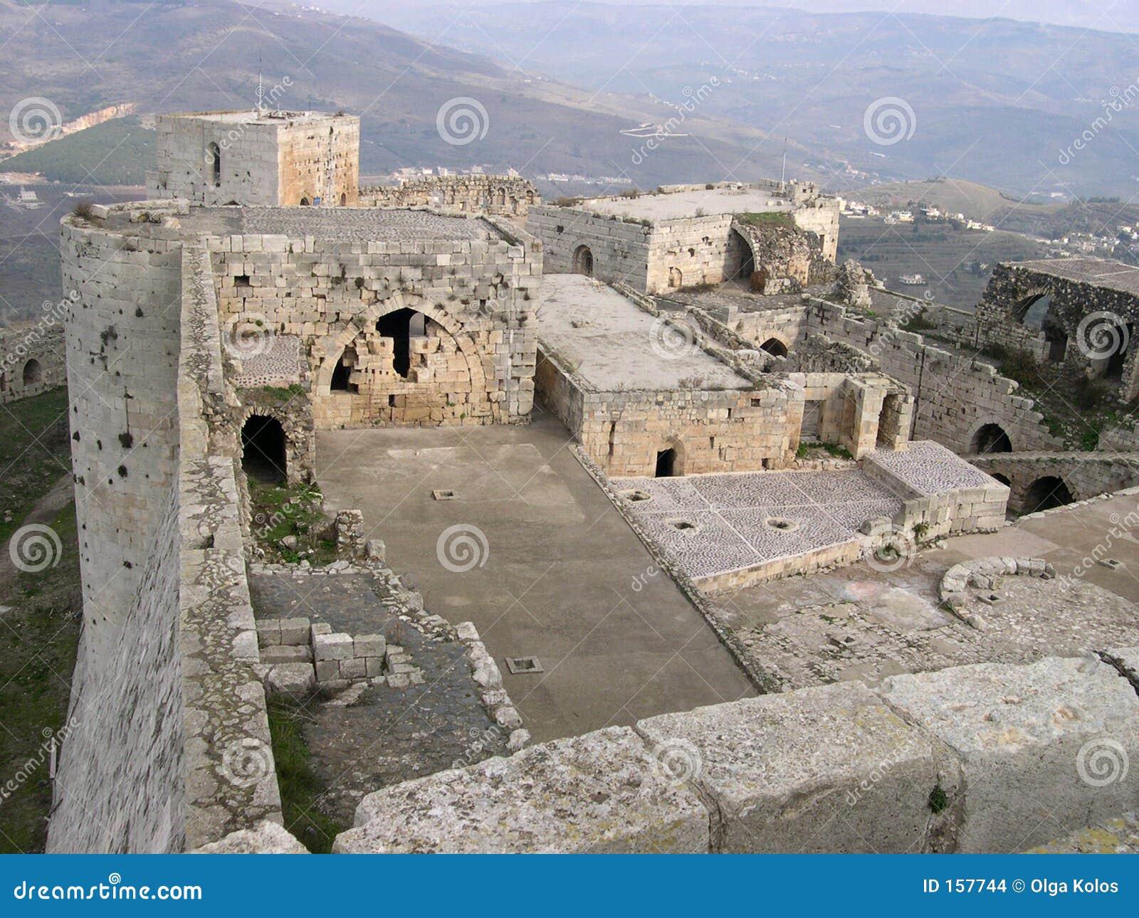 The castle of Krak des Chevaliers
