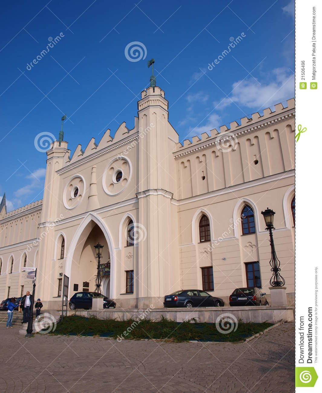 Castle Lublin Poland Editorial Photo Image 21506496