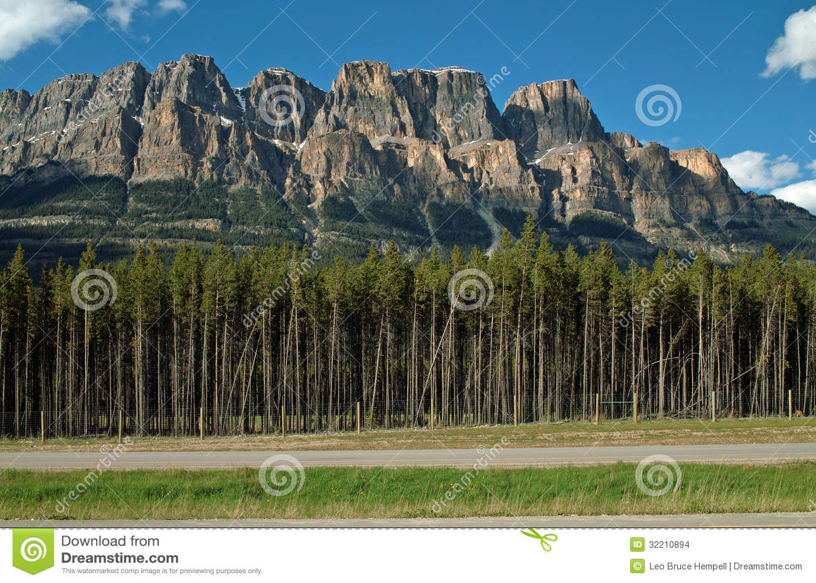 Castle Mountain, Banff, Alberta, Canada
