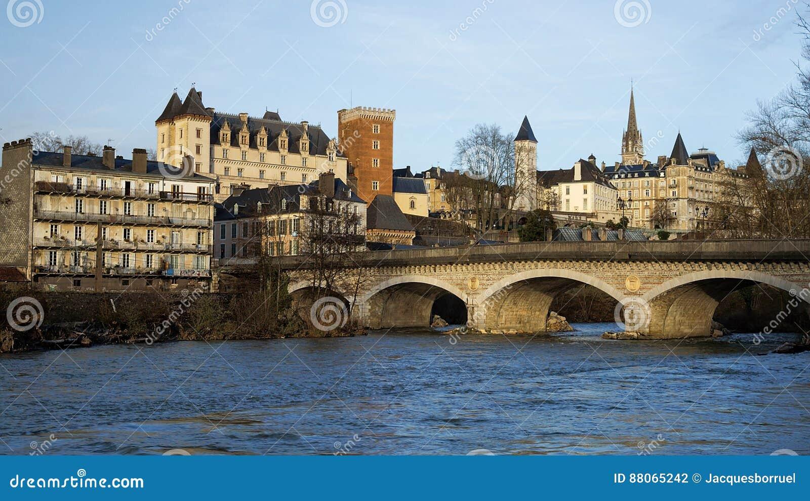 castle of pau france stock photo image of culture france 88065242