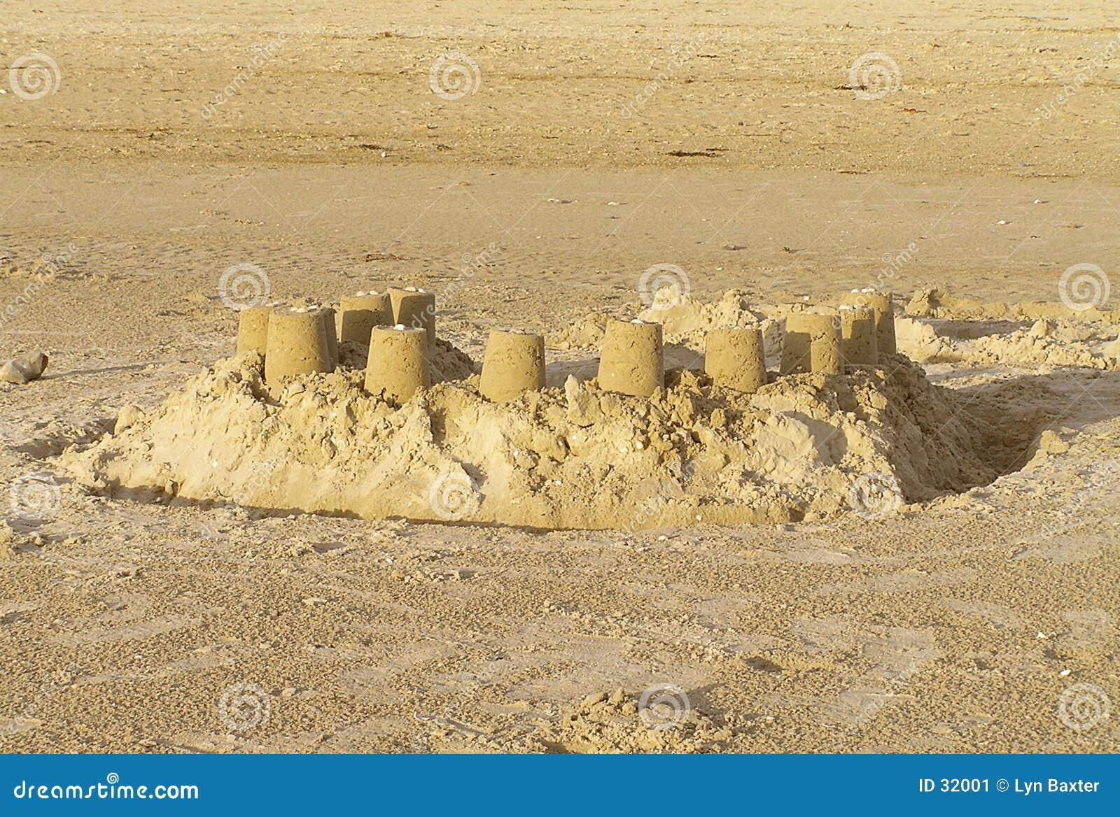 Castle piasku