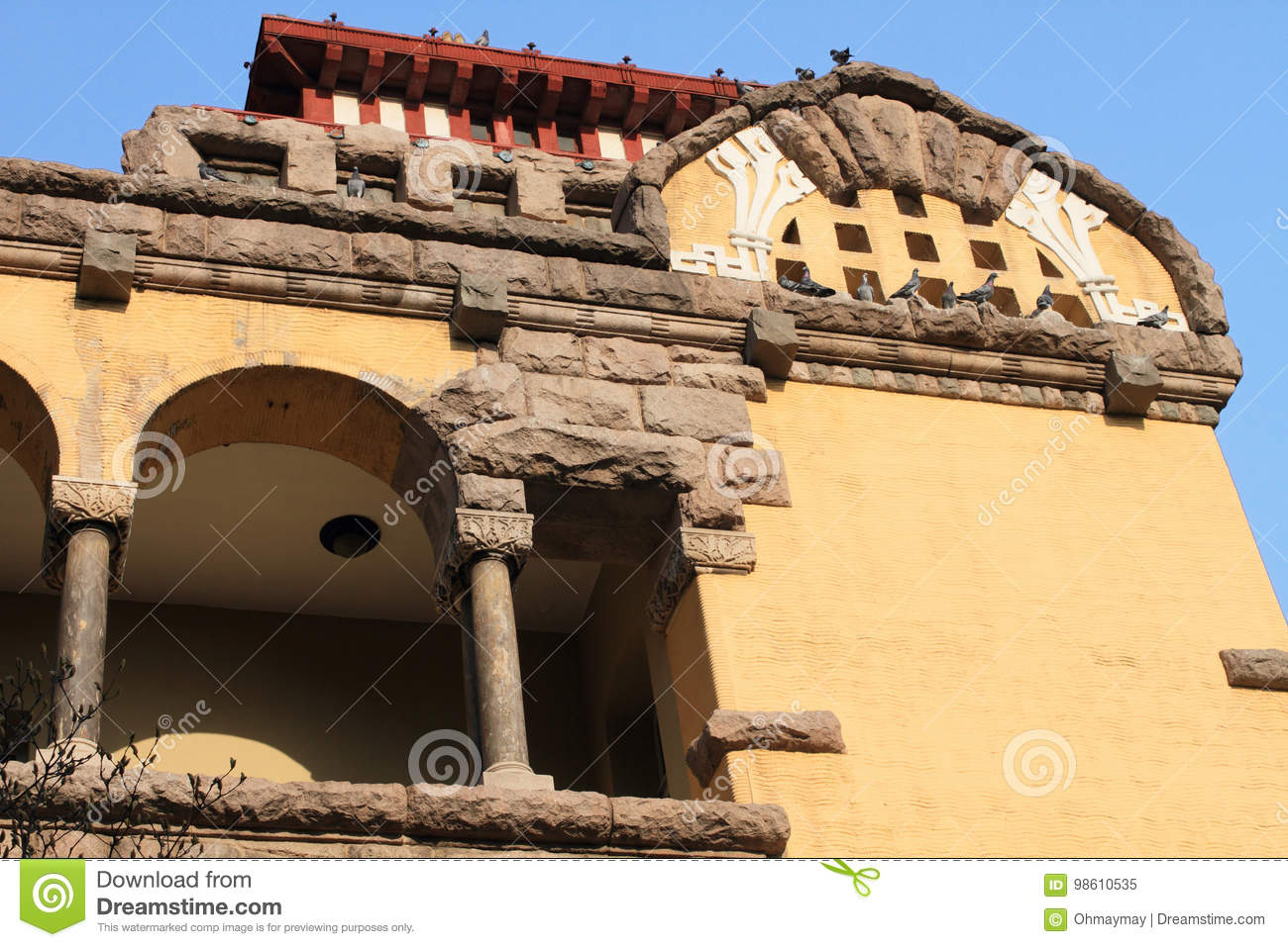 Castle in Qingdao stock image. Image of bavarian, castle - 98610535