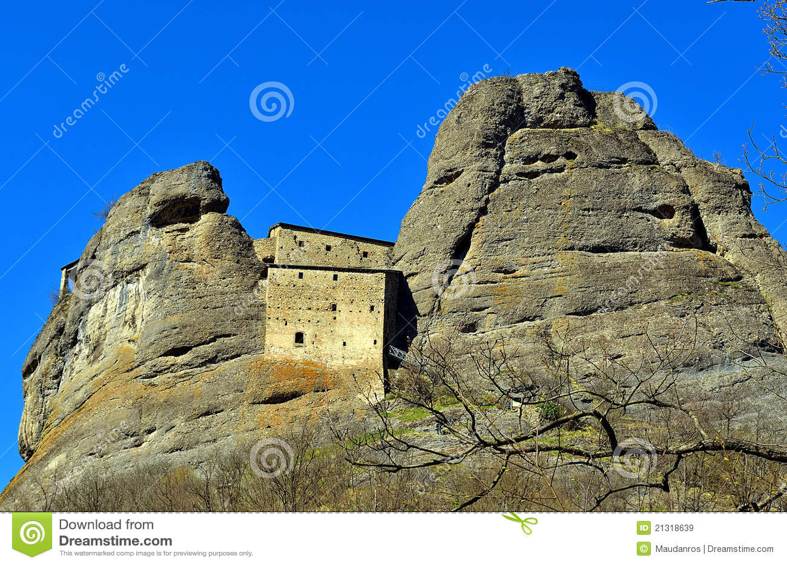Castle Rock, vobbia, Genova