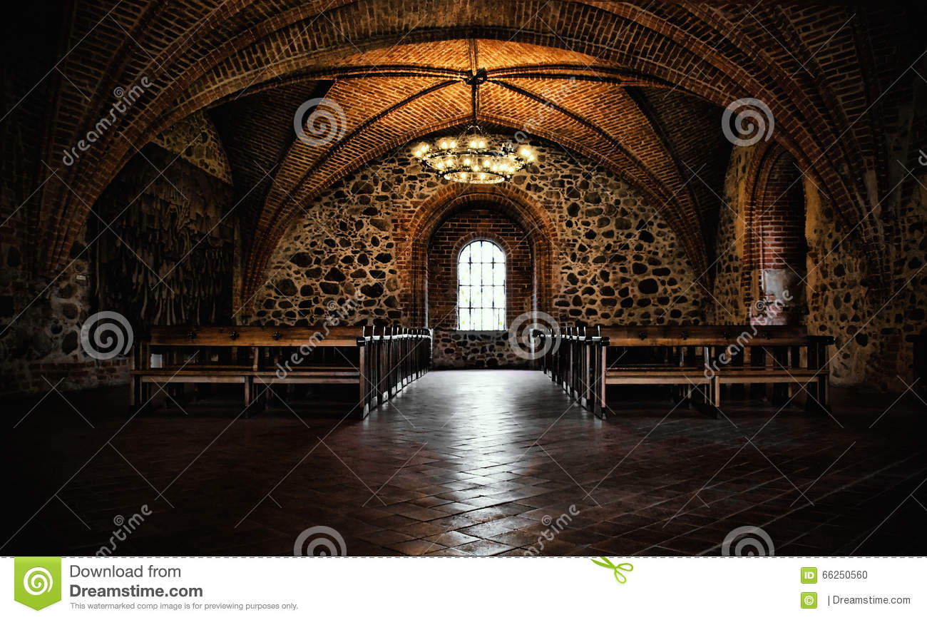 Castle Room Medieval Interior Gothic Hall Empty Chamber
