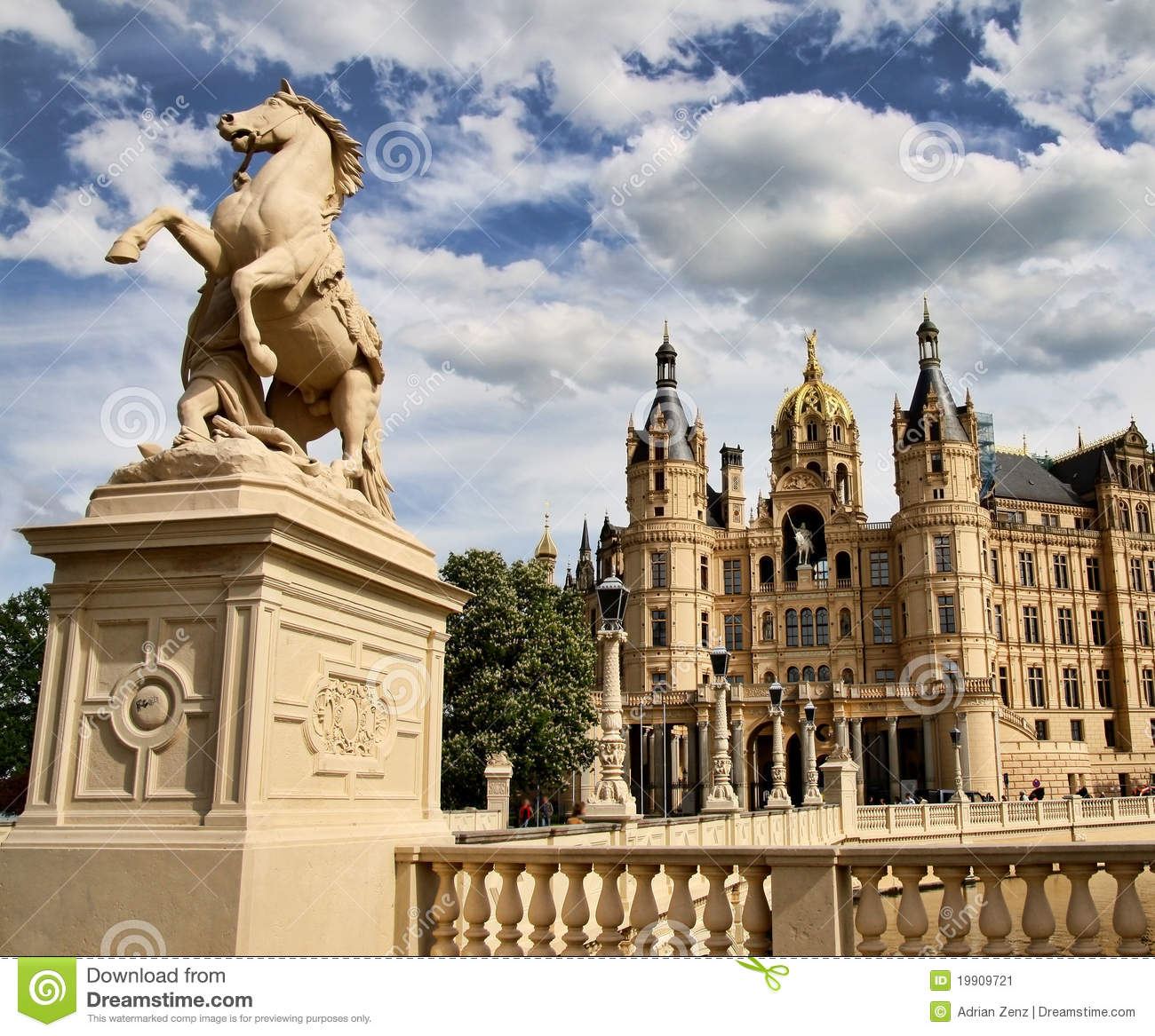 Castle of schwerin northern germany stock image image 19909721