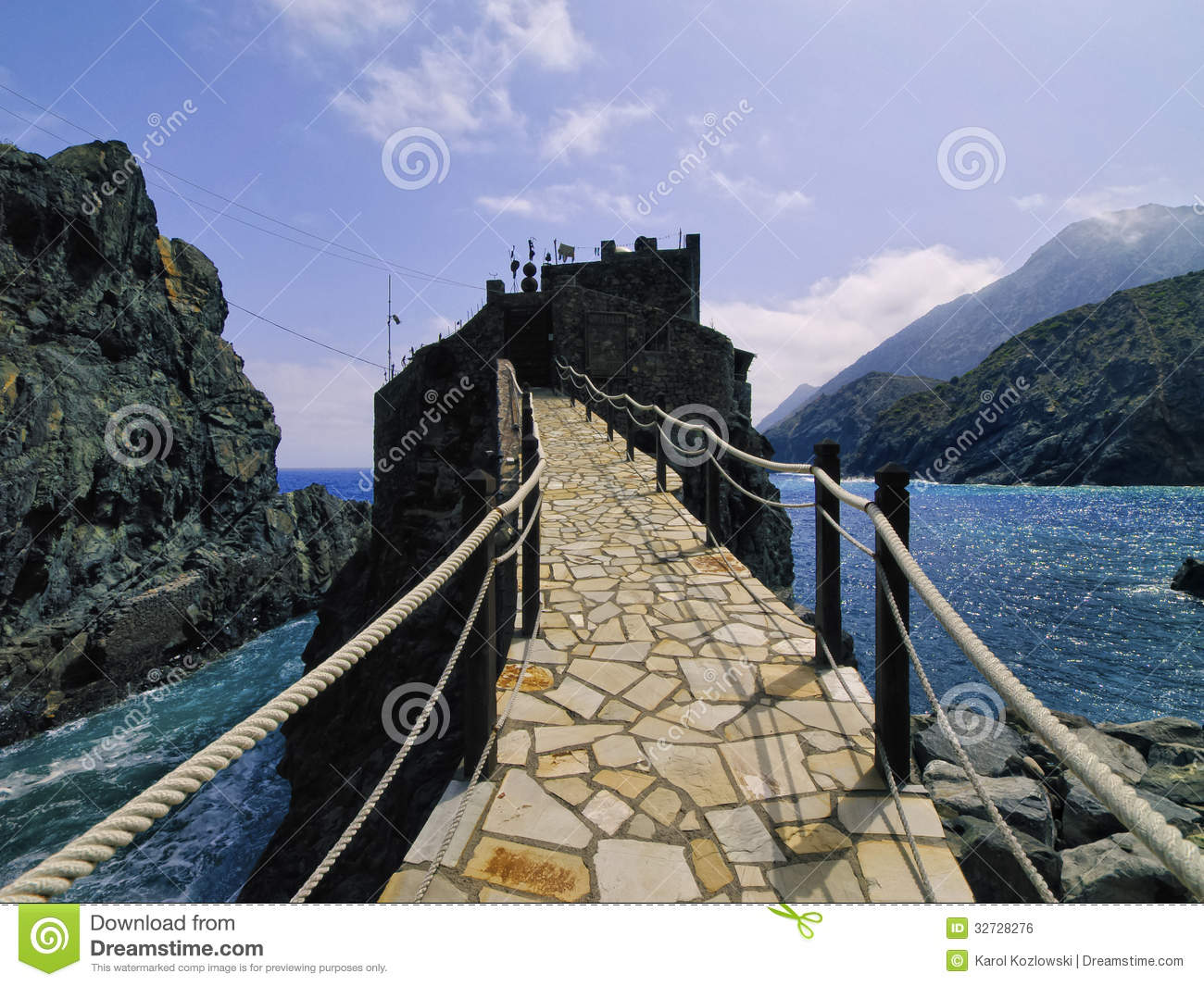 Castle of Sea on La Gomera