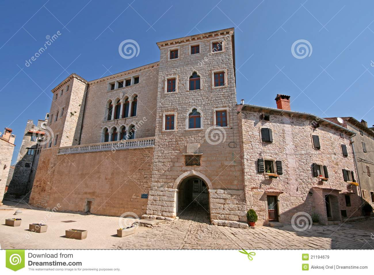 Castle Soardo Bembo in Bale