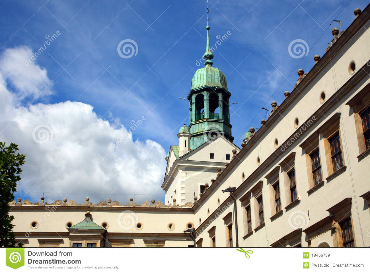Castle In Szczecin Royalty Free Stock Images Image 18466739