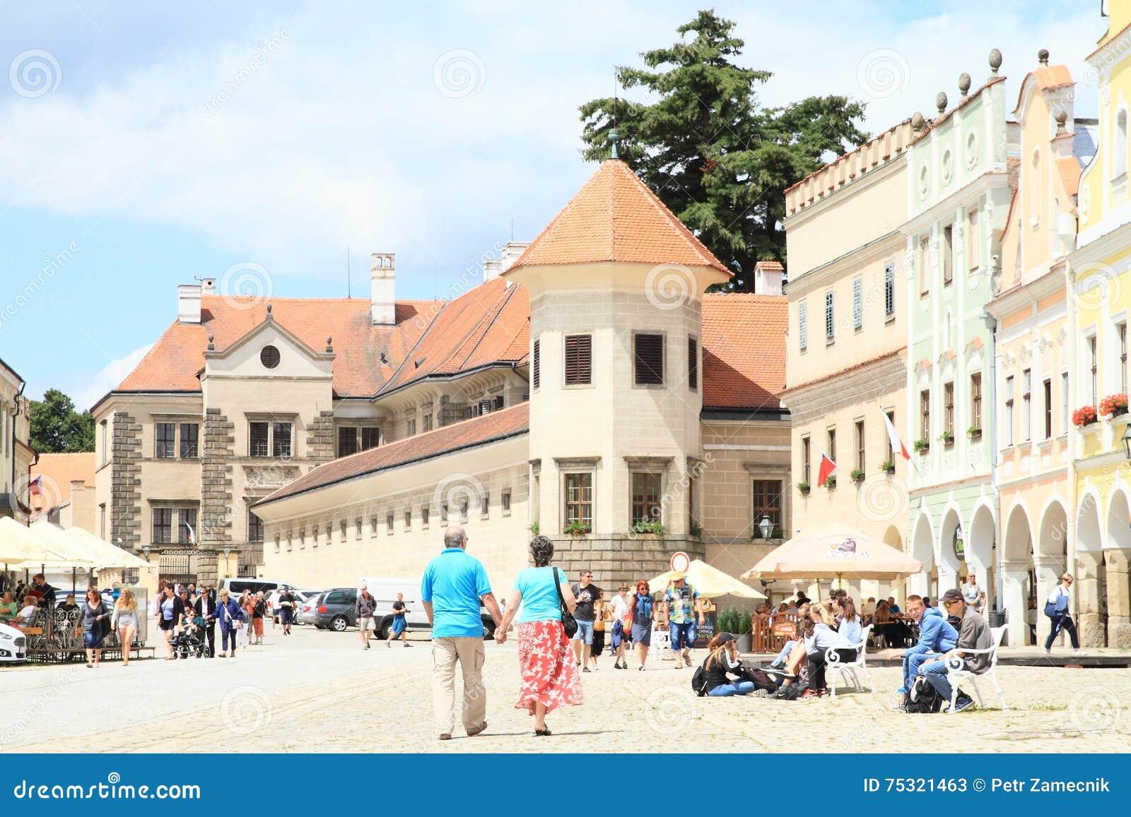 Castle in Telc