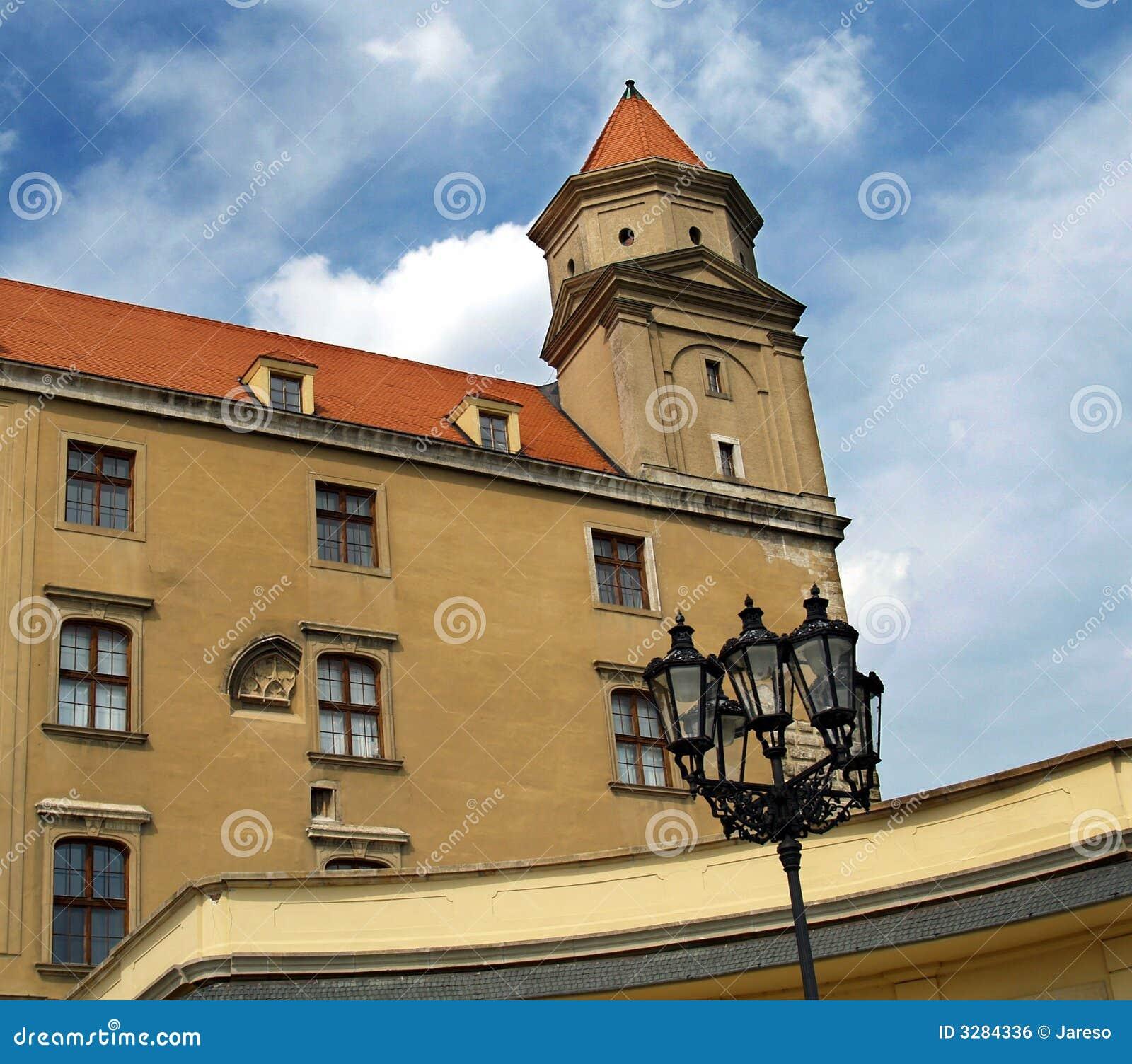 Castle tower detail