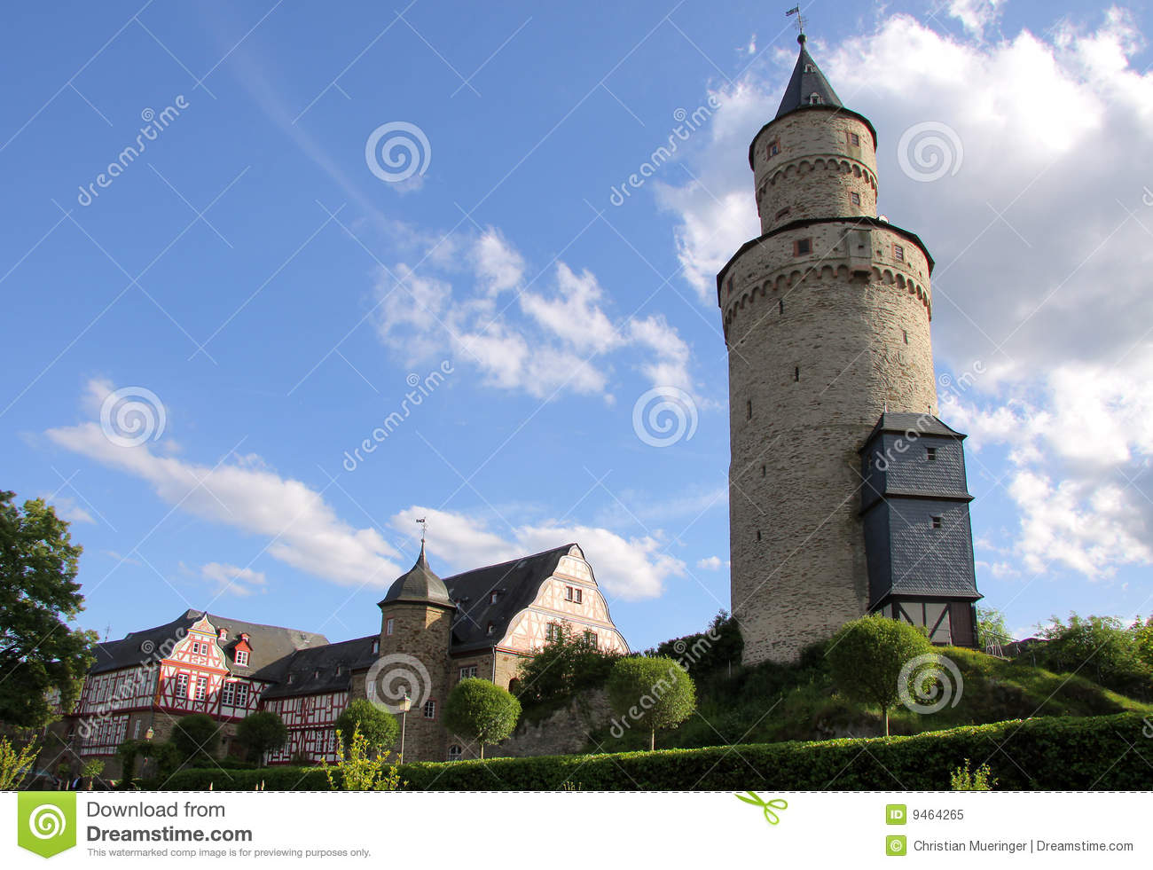 Castle tower in Idstein