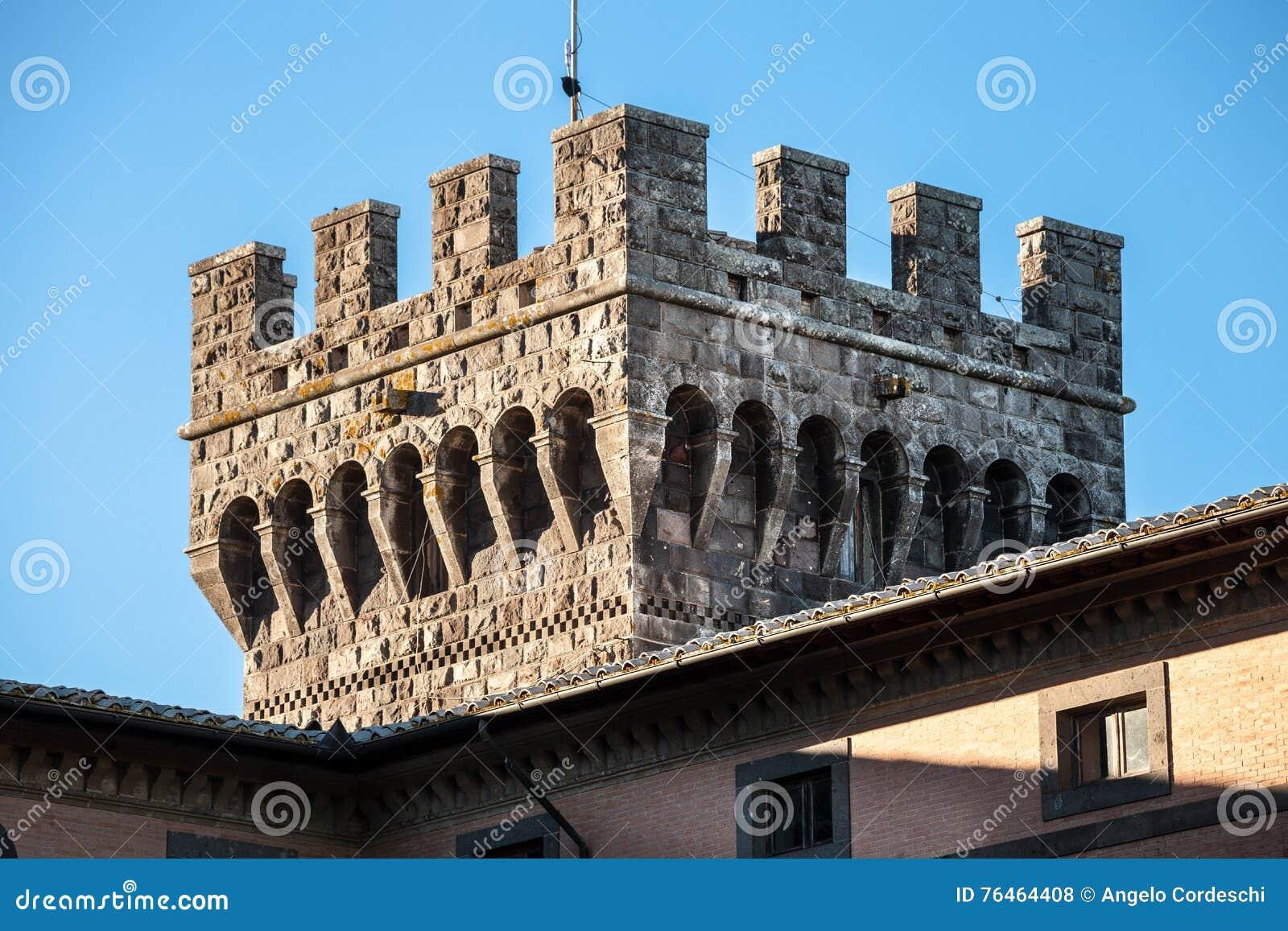 Battlement architecture
