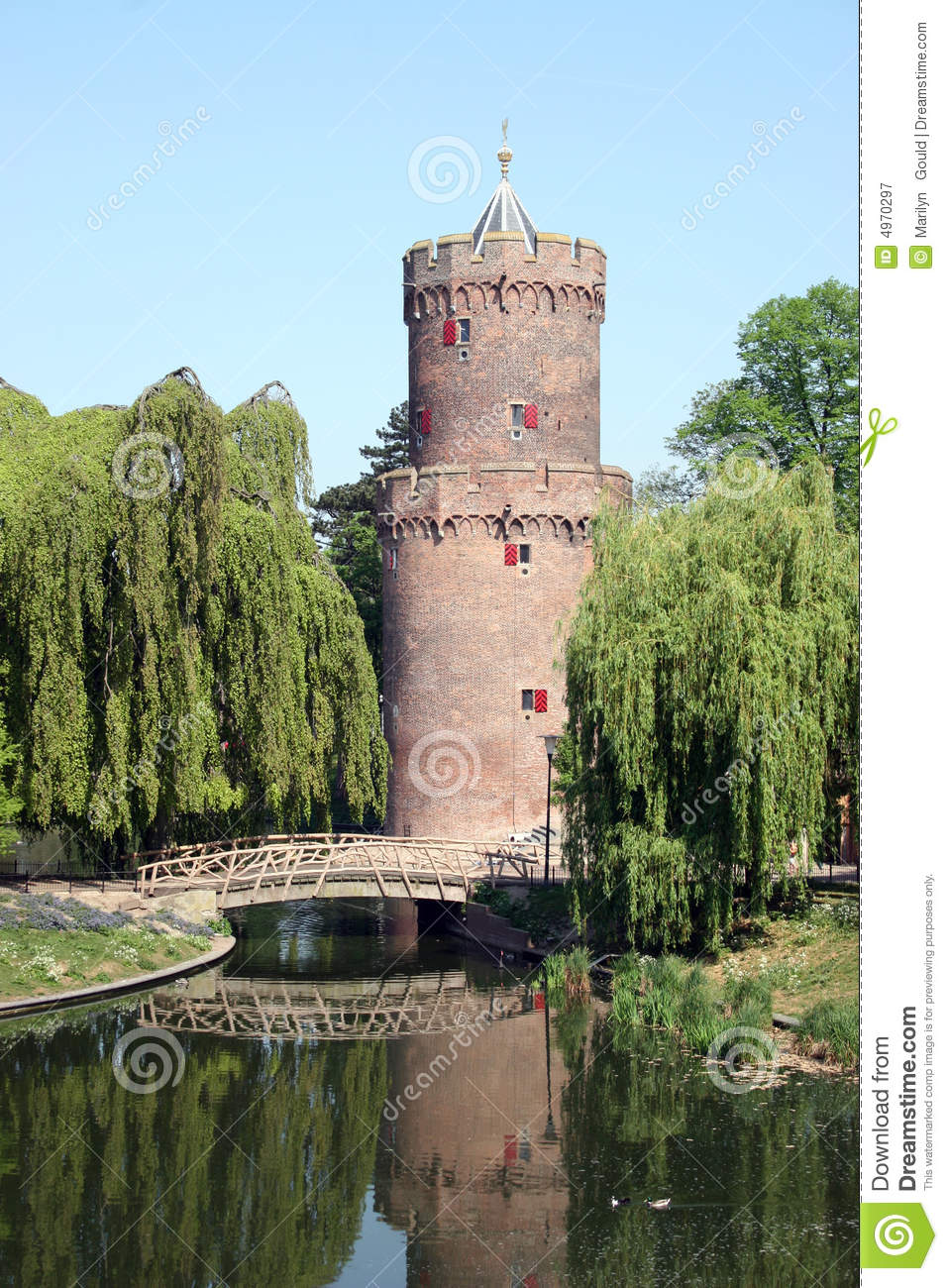 castle turret royalty free stock photography