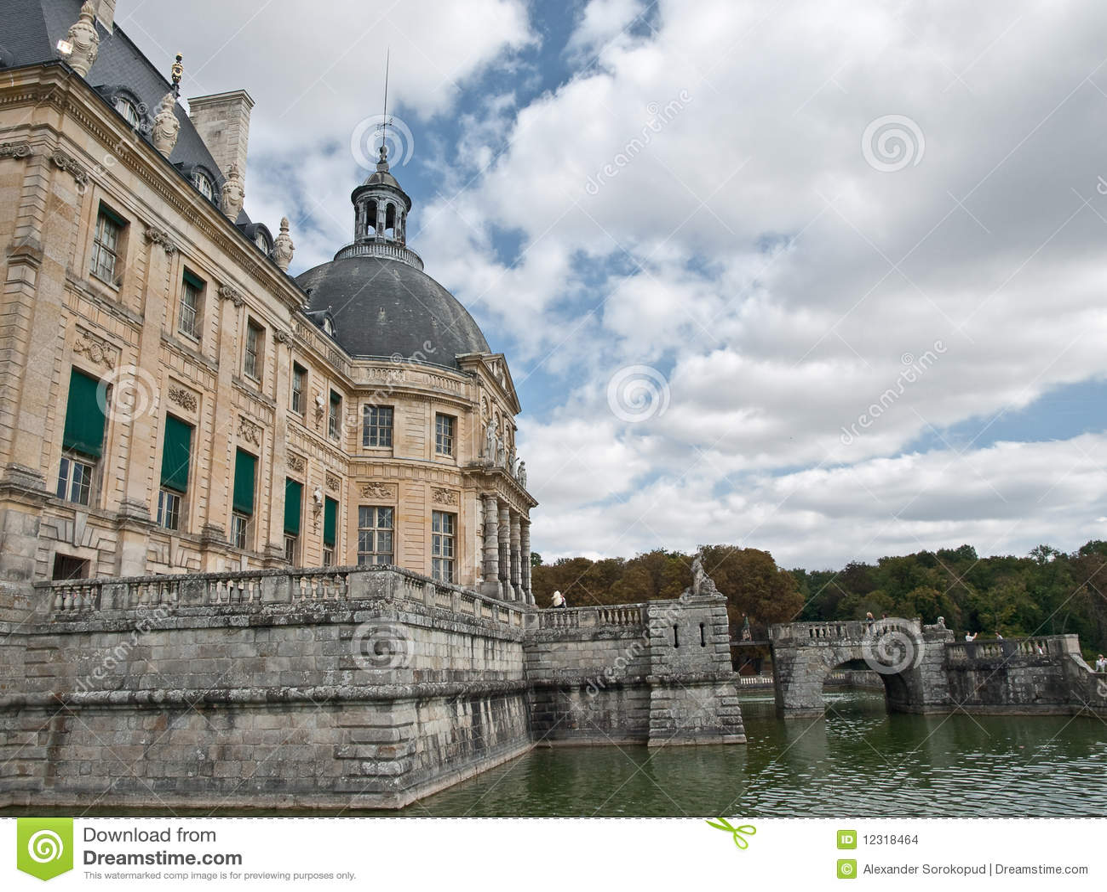 Castle Vaux le Vicomte