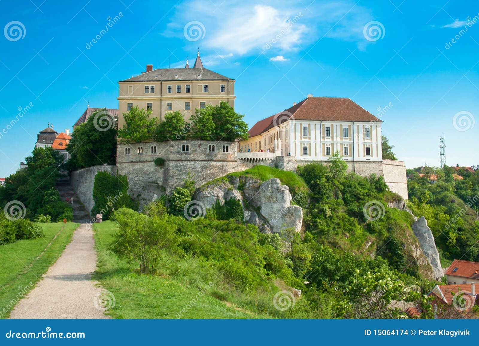 Veszprem Hungary  city pictures gallery : Castle In Veszprem, Hungary Stock Images Image: 15064174