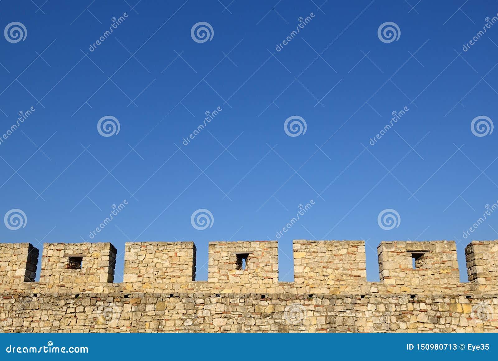 Castle Wall Battlements