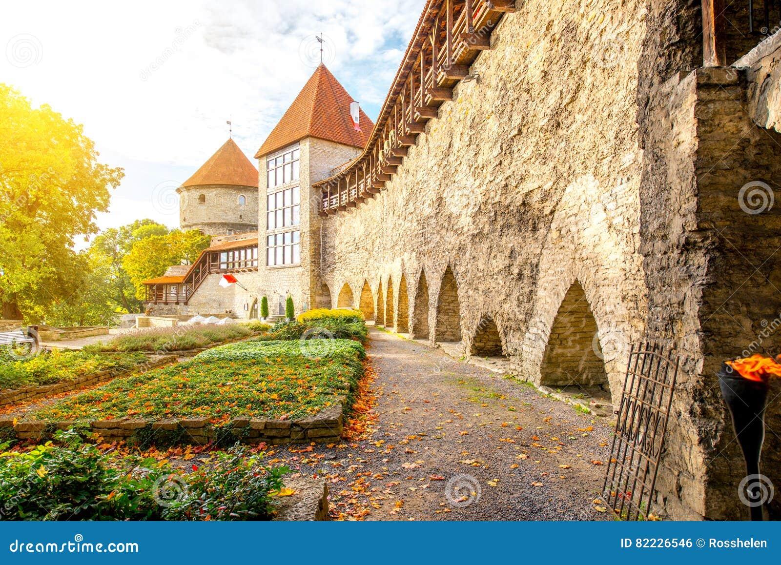Castle wall in Tallinn