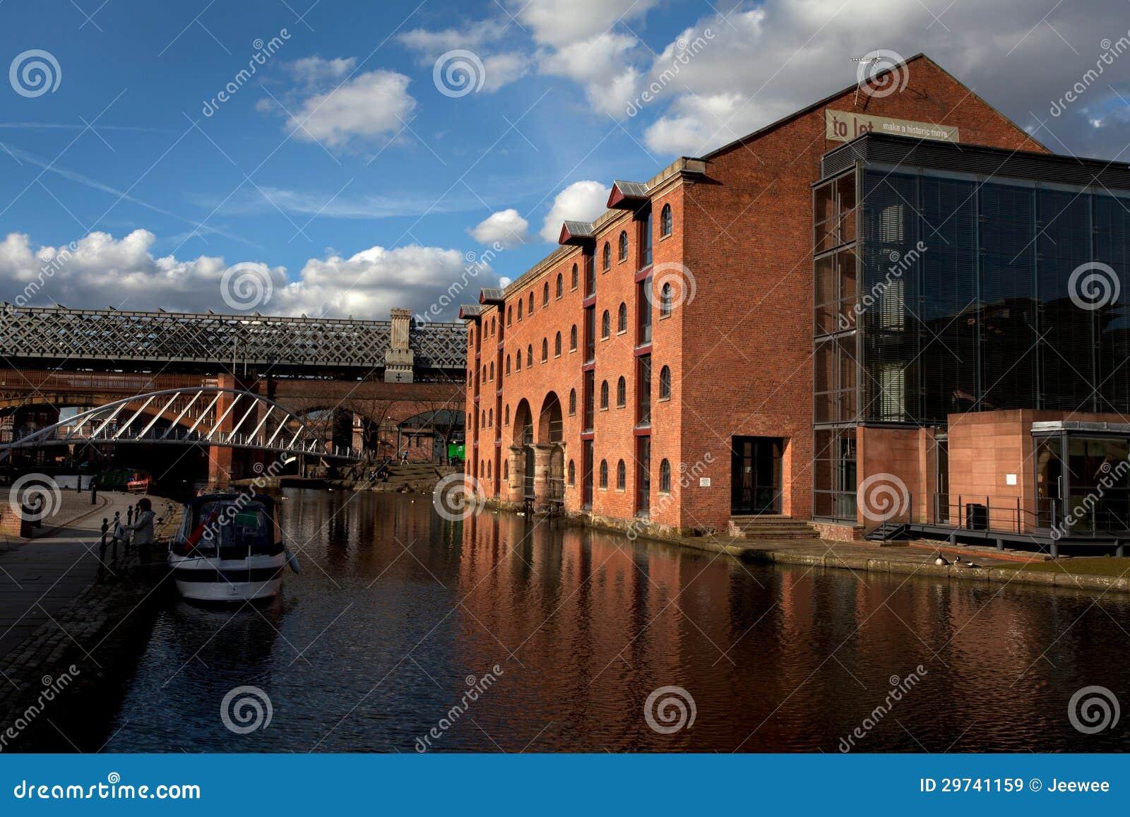 Castlefield a Manchester, Regno Unito