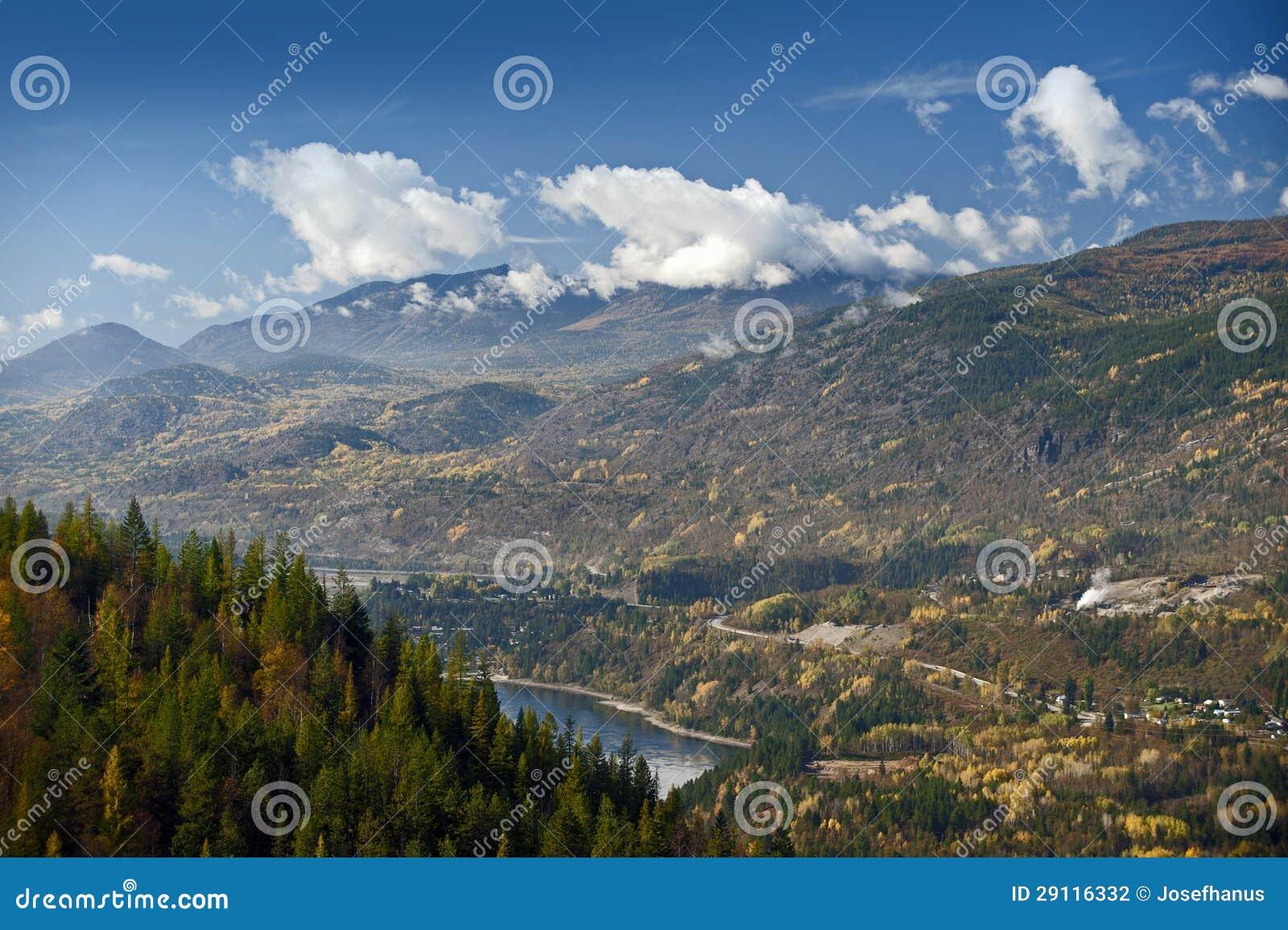 Castlegar和Kootenay河