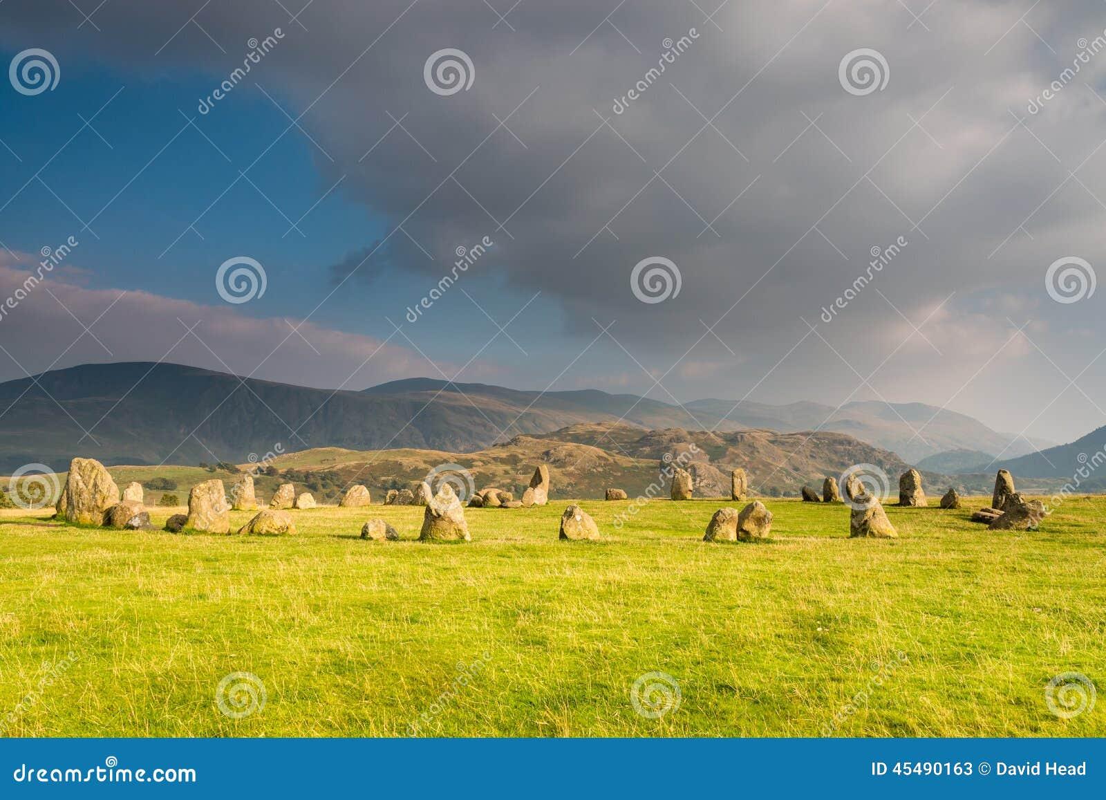 Castlerigg石圈子