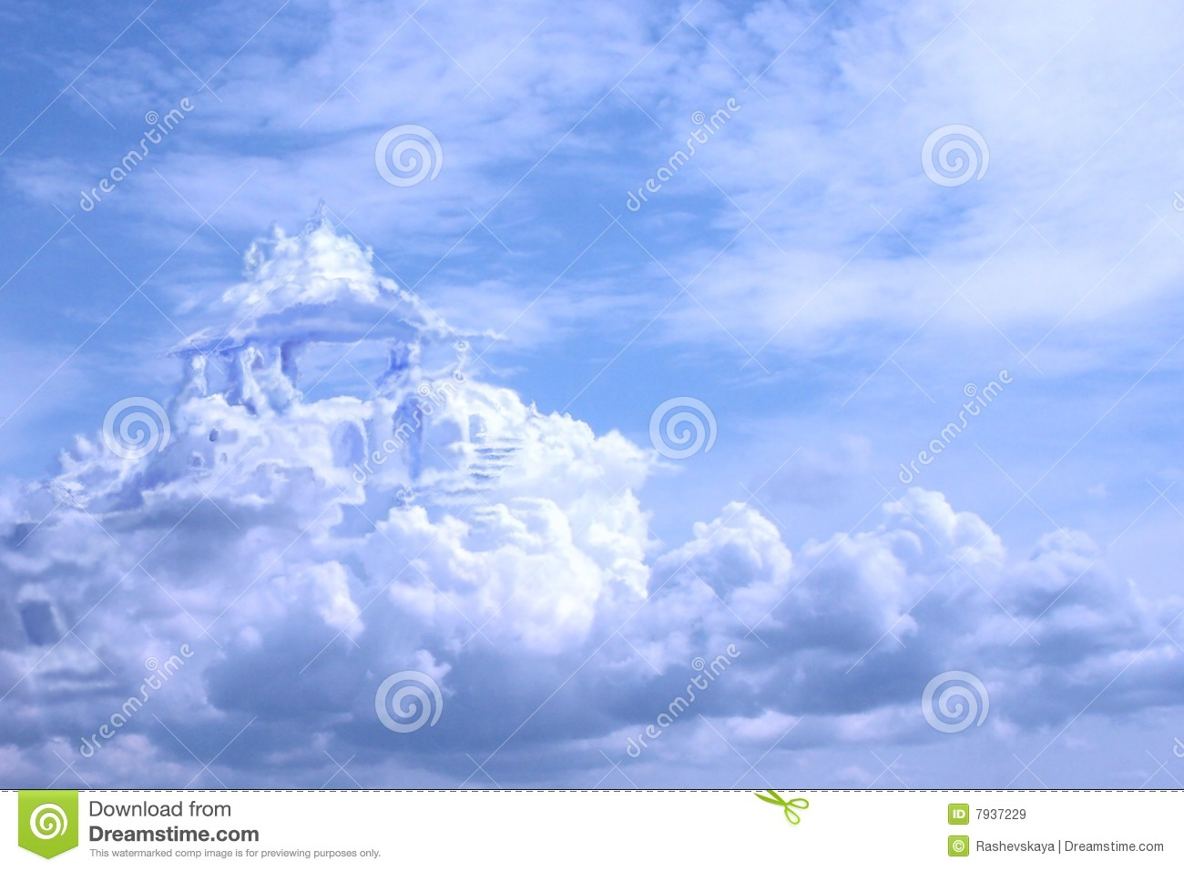 Castles In The Air Stock Illustration Illustration Of