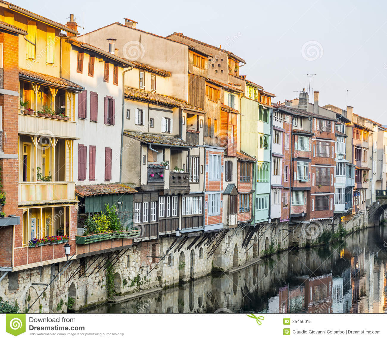 Castres France  City pictures : Castres France Royalty Free Stock Photo Image: 35450015