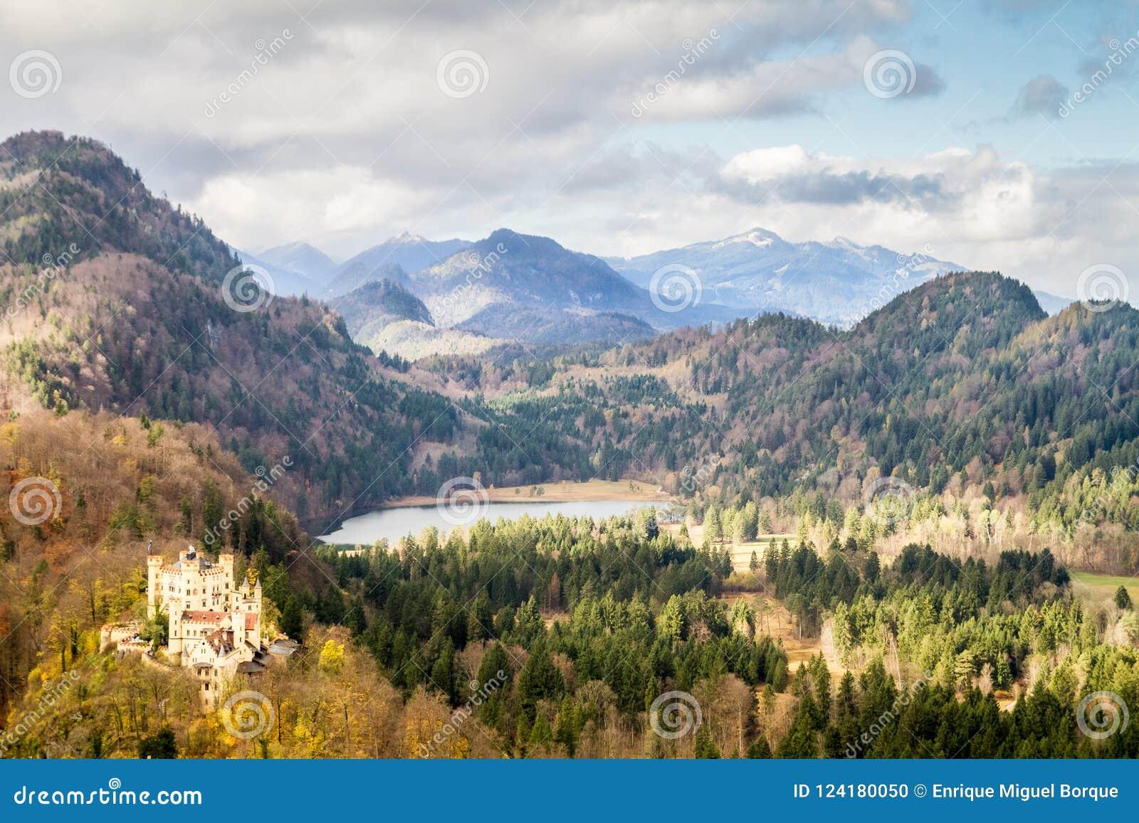 Casttle de Hohenschwangau, Allemagne