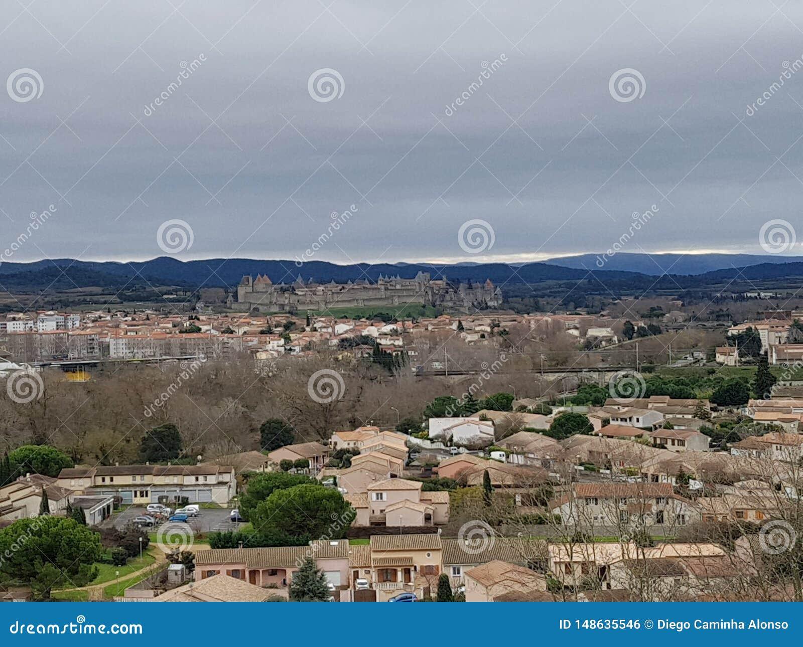 Casttle van Carcassonne, Francia