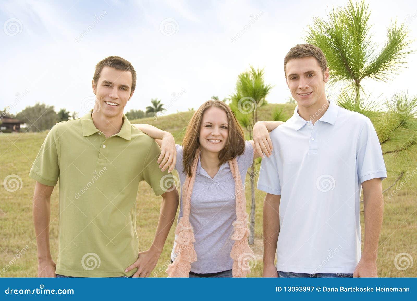 Casual friends and men | Erotic foto)