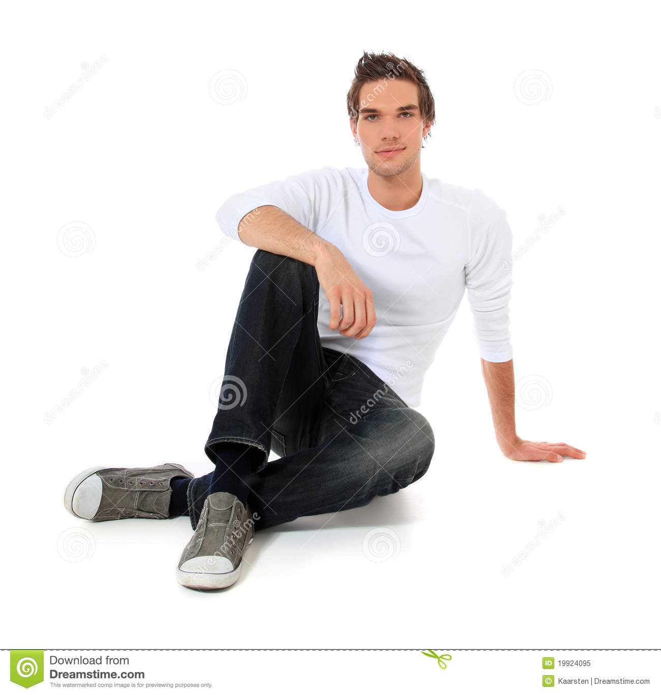 Casual guy sitting on the floor stock image image 19924095 for To floor someone