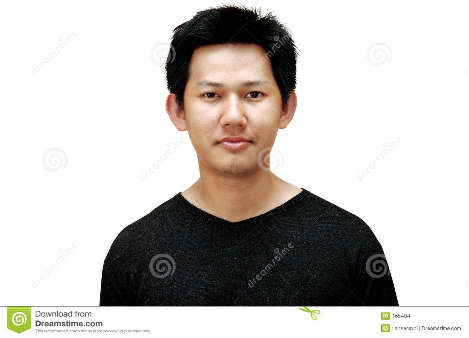 Casual male portrait