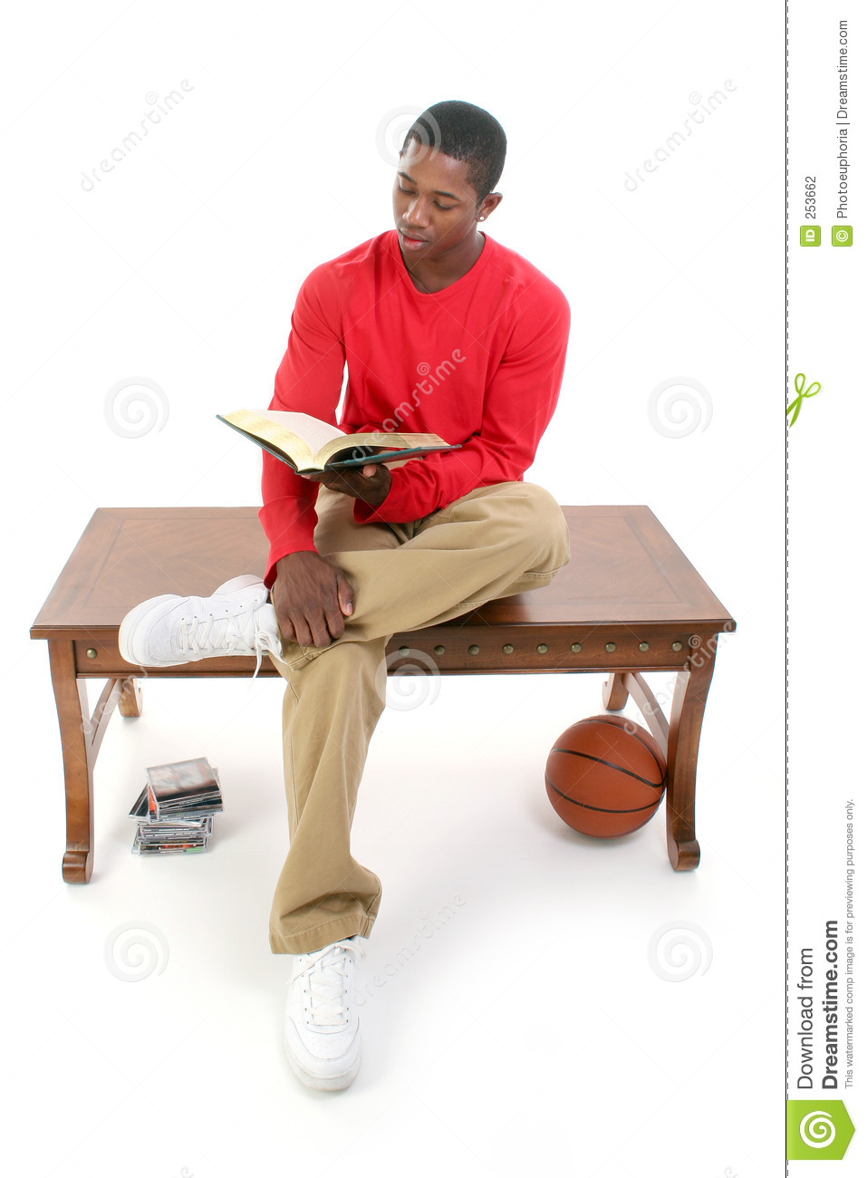 Royalty Free Stock Photo. Download Casual Man Sitting On Table ...