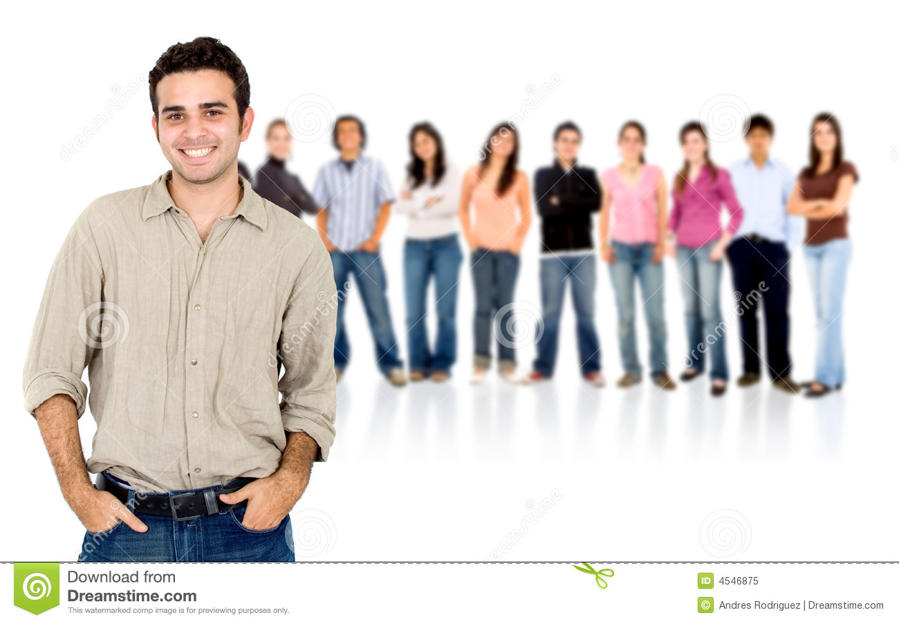 Casual People Group Stock Image  Image Of Students  School