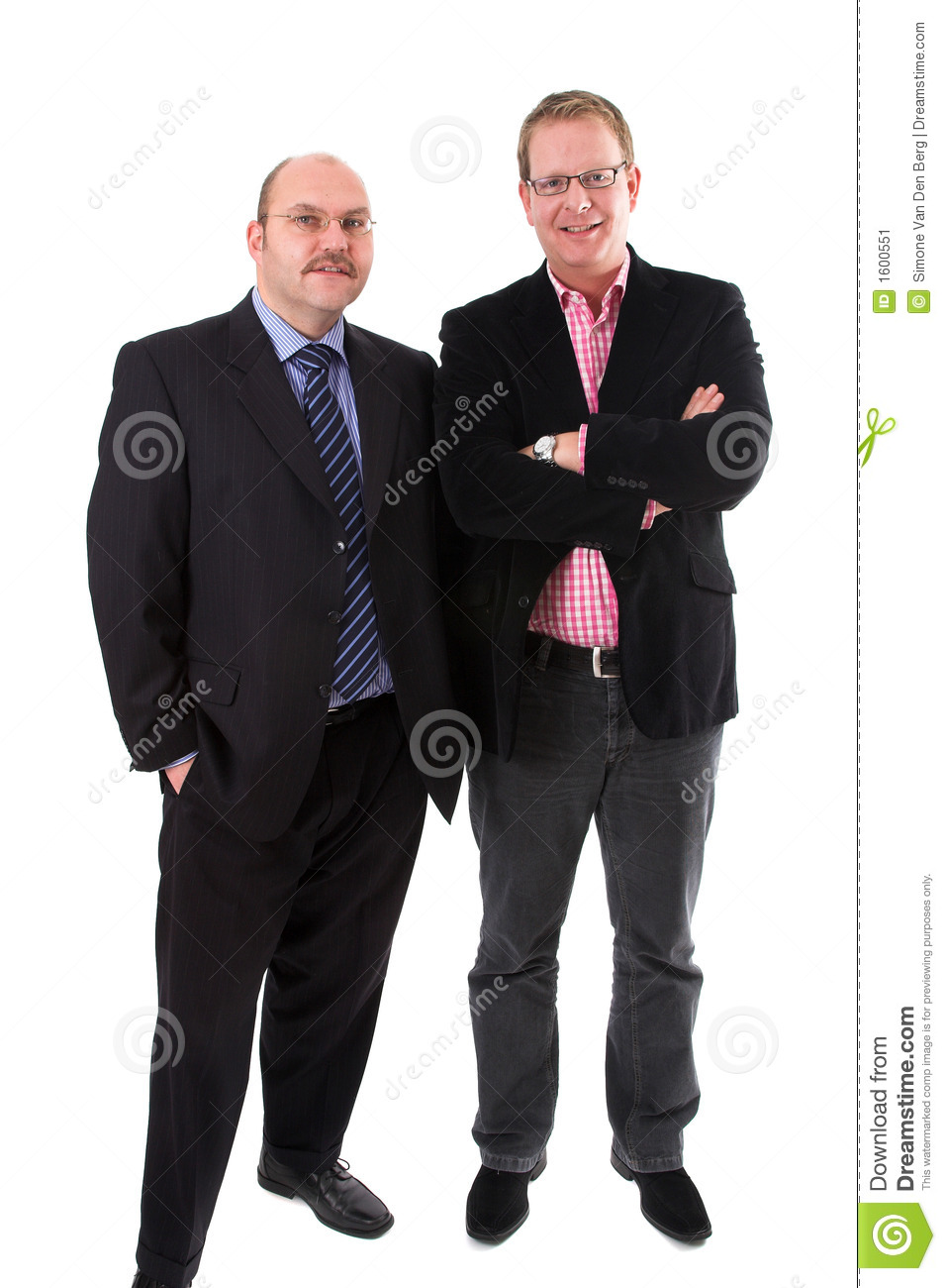 Casually Dressed Businessmen