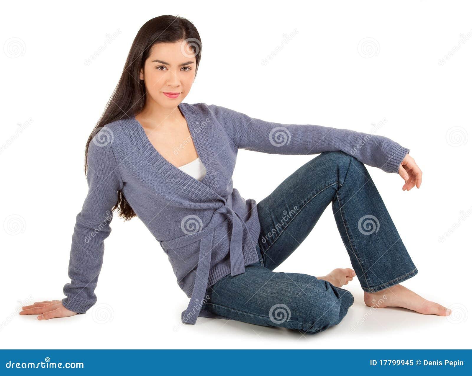Fashion Model Sit