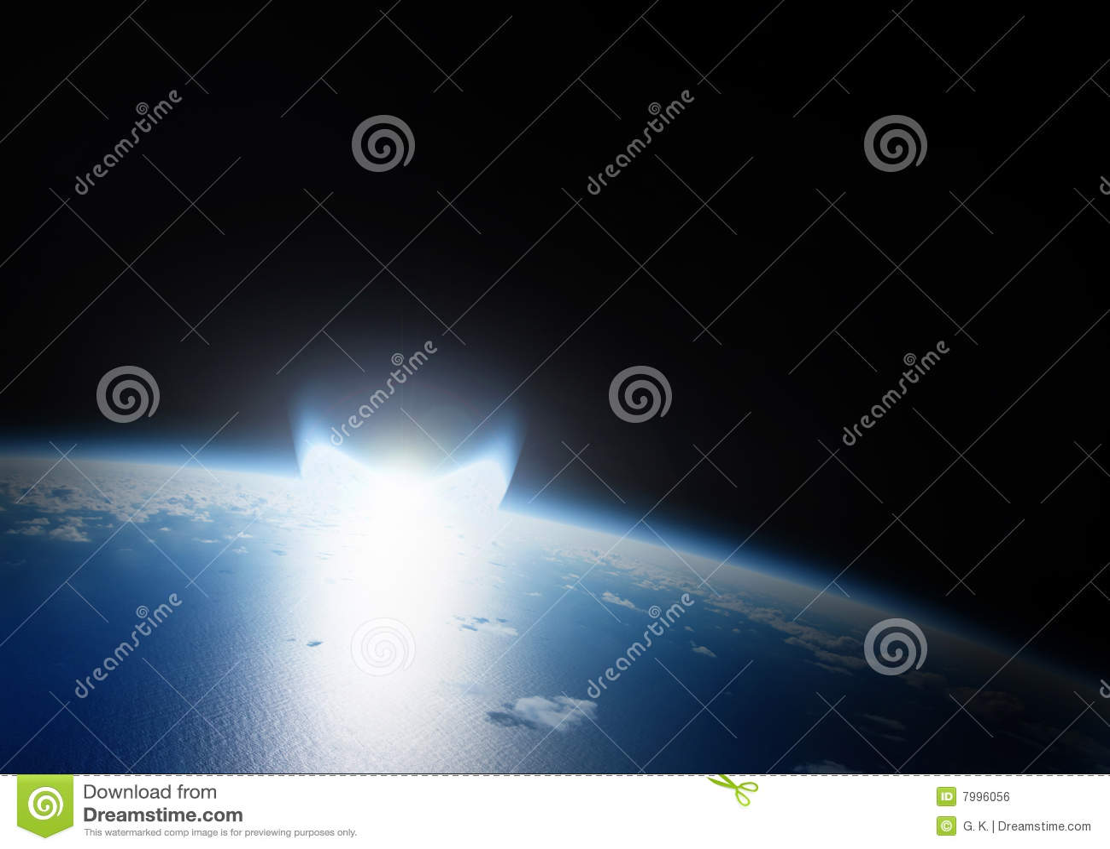 Catástrofe do impacto asteróide na terra