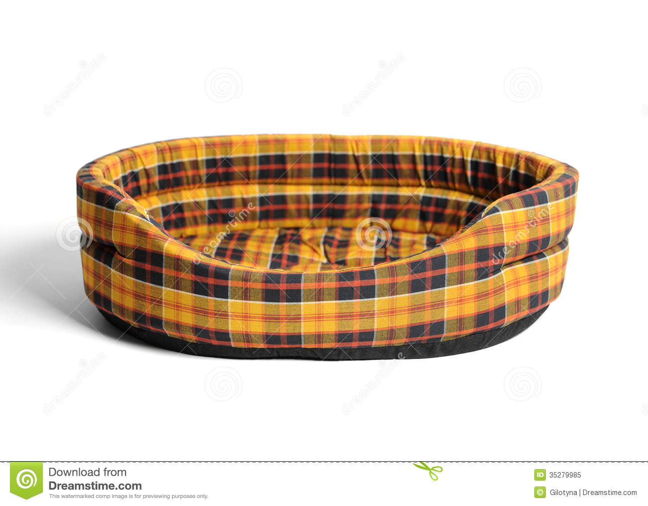 Cat Basket Clipart : Cat bed stock image of small domestic studio